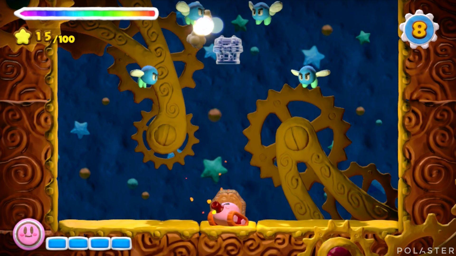 Kirby y el Pincel Arcoíris - Desafío 29: Cofre 1