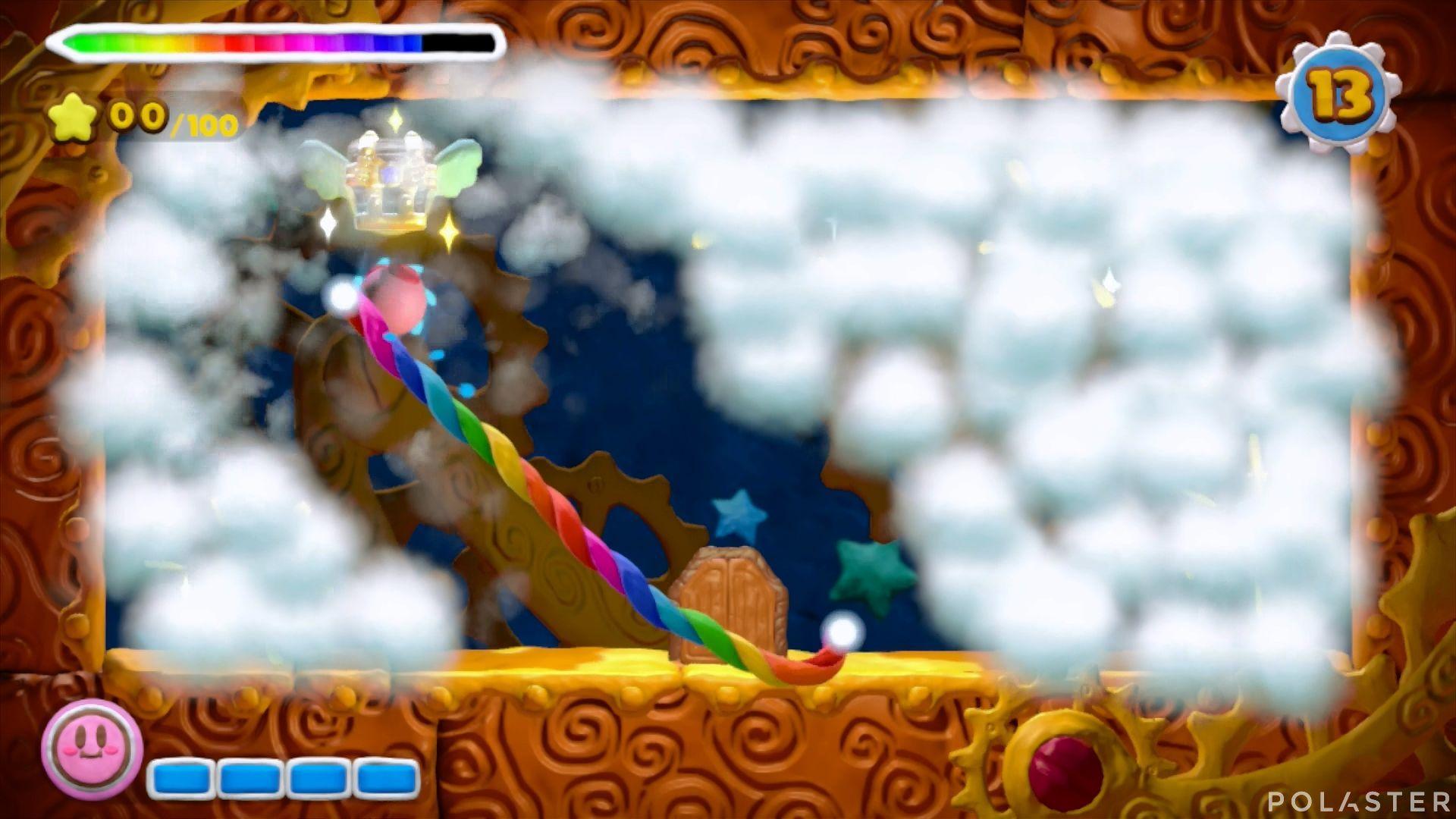Kirby y el Pincel Arcoíris - Desafío 2 Cofre 1