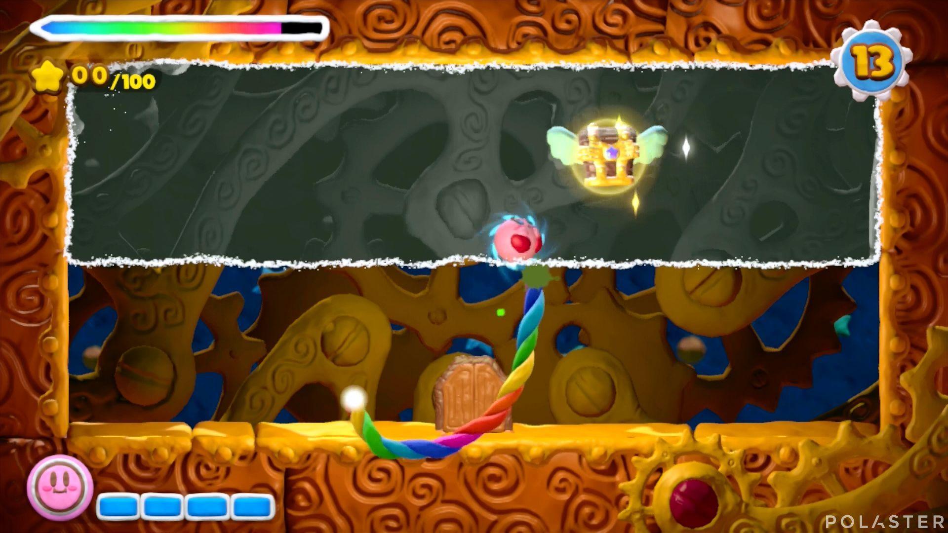 Kirby y el Pincel Arcoíris - Desafío 2 Cofre 2