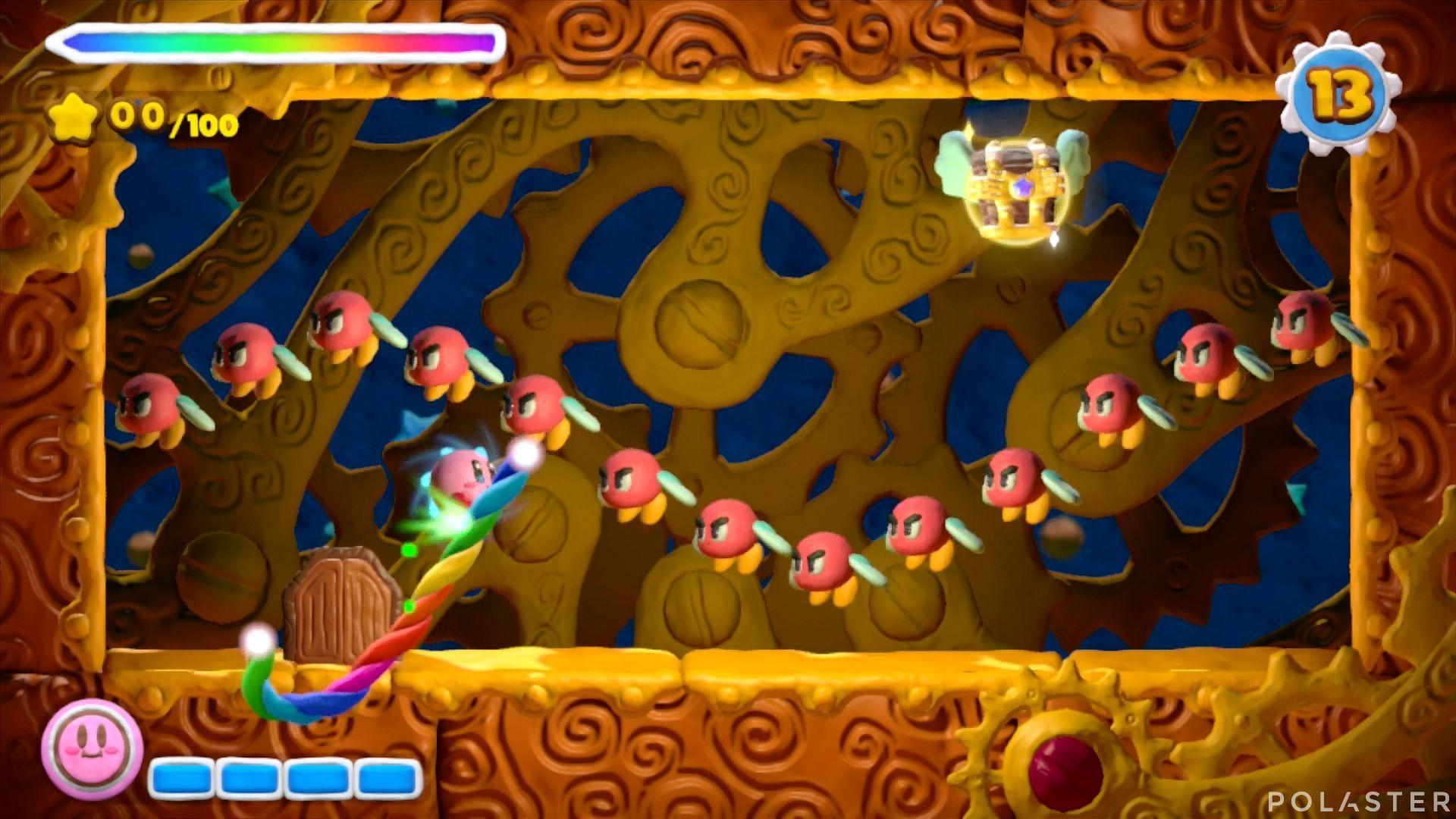 Kirby y el Pincel Arcoíris - Desafío 2 Cofre 4