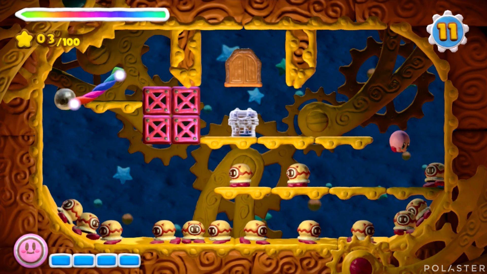 Kirby y el Pincel Arcoíris - Desafío 31: Cofre 2