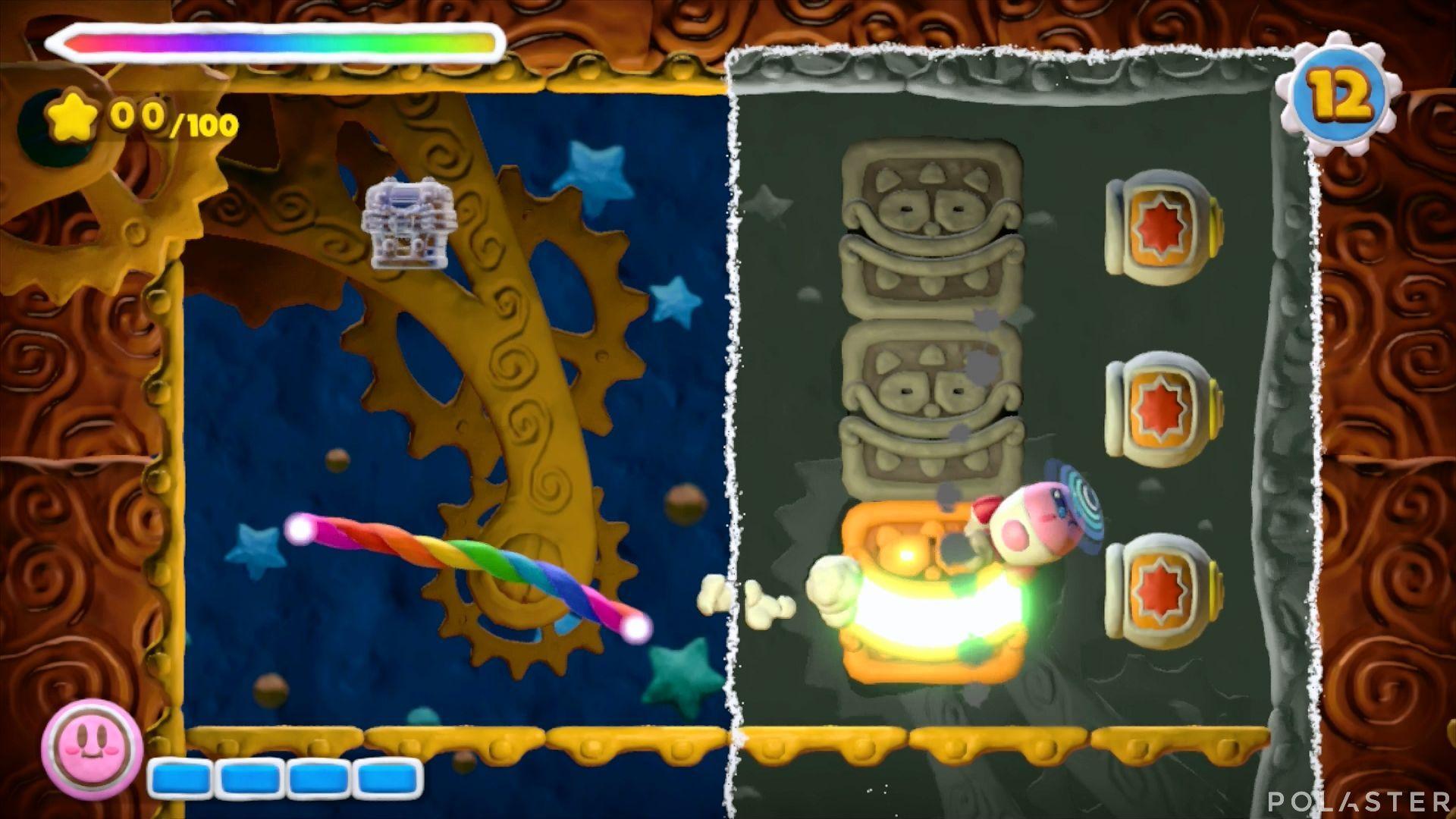 Kirby y el Pincel Arcoíris - Desafío 31: Cofre 4