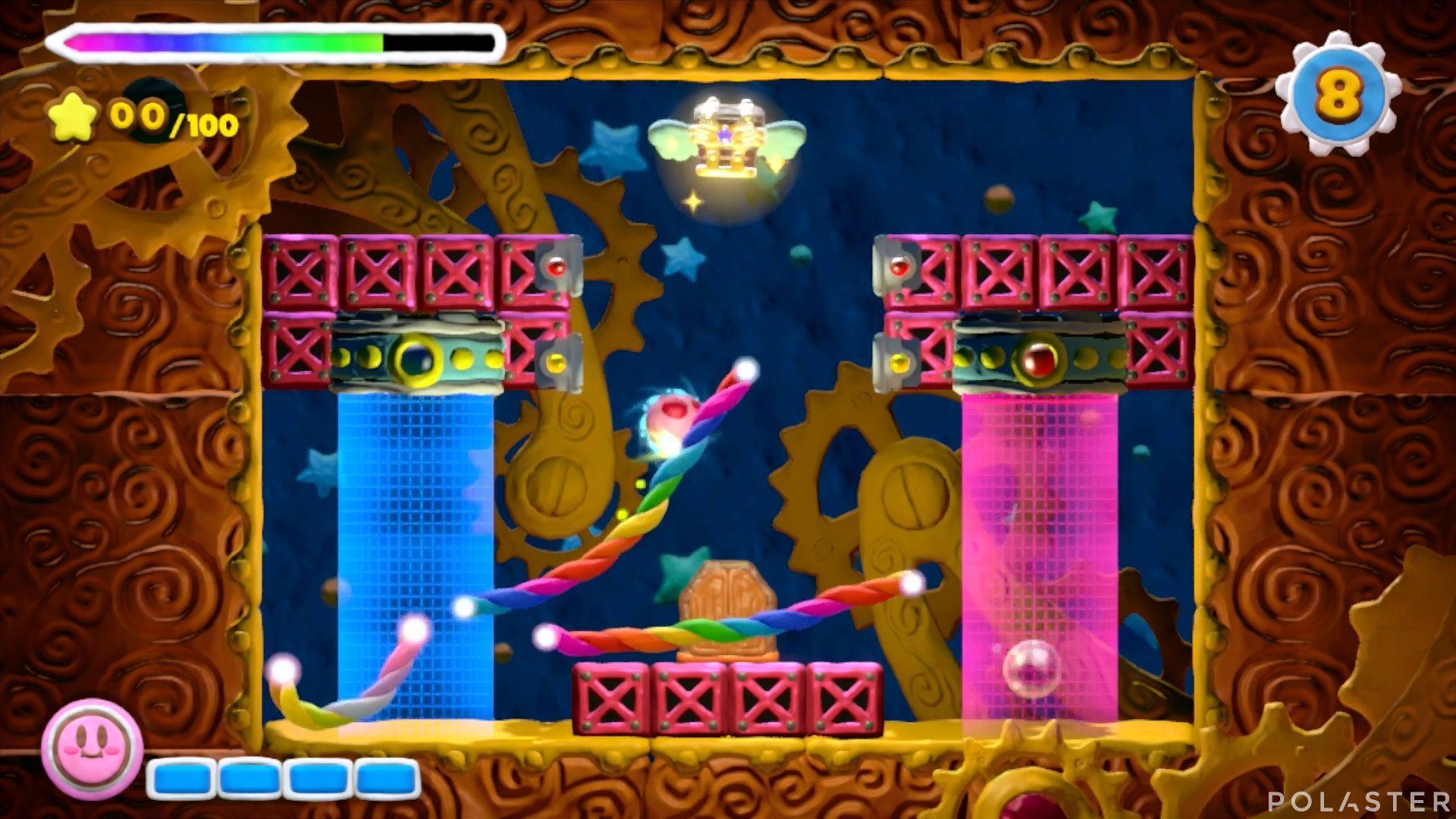 Kirby y el Pincel Arcoíris - Desafío 32: Cofre 10