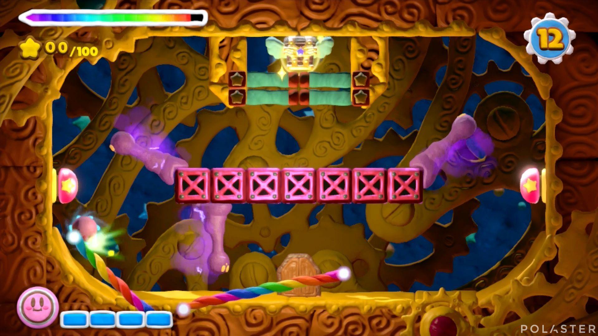 Kirby y el Pincel Arcoíris - Desafío 32: Cofre 11