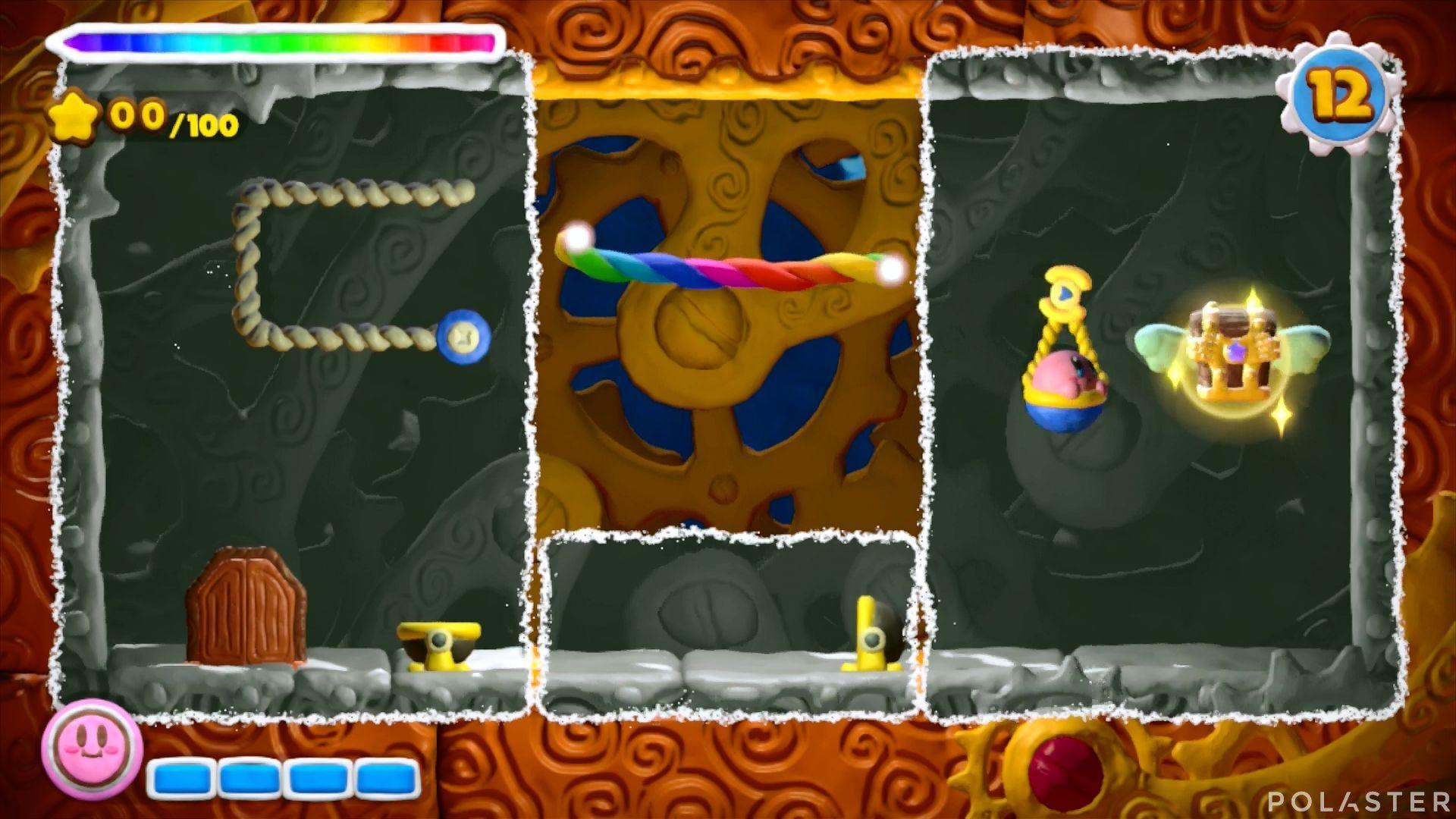 Kirby y el Pincel Arcoíris - Desafío 32: Cofre 12