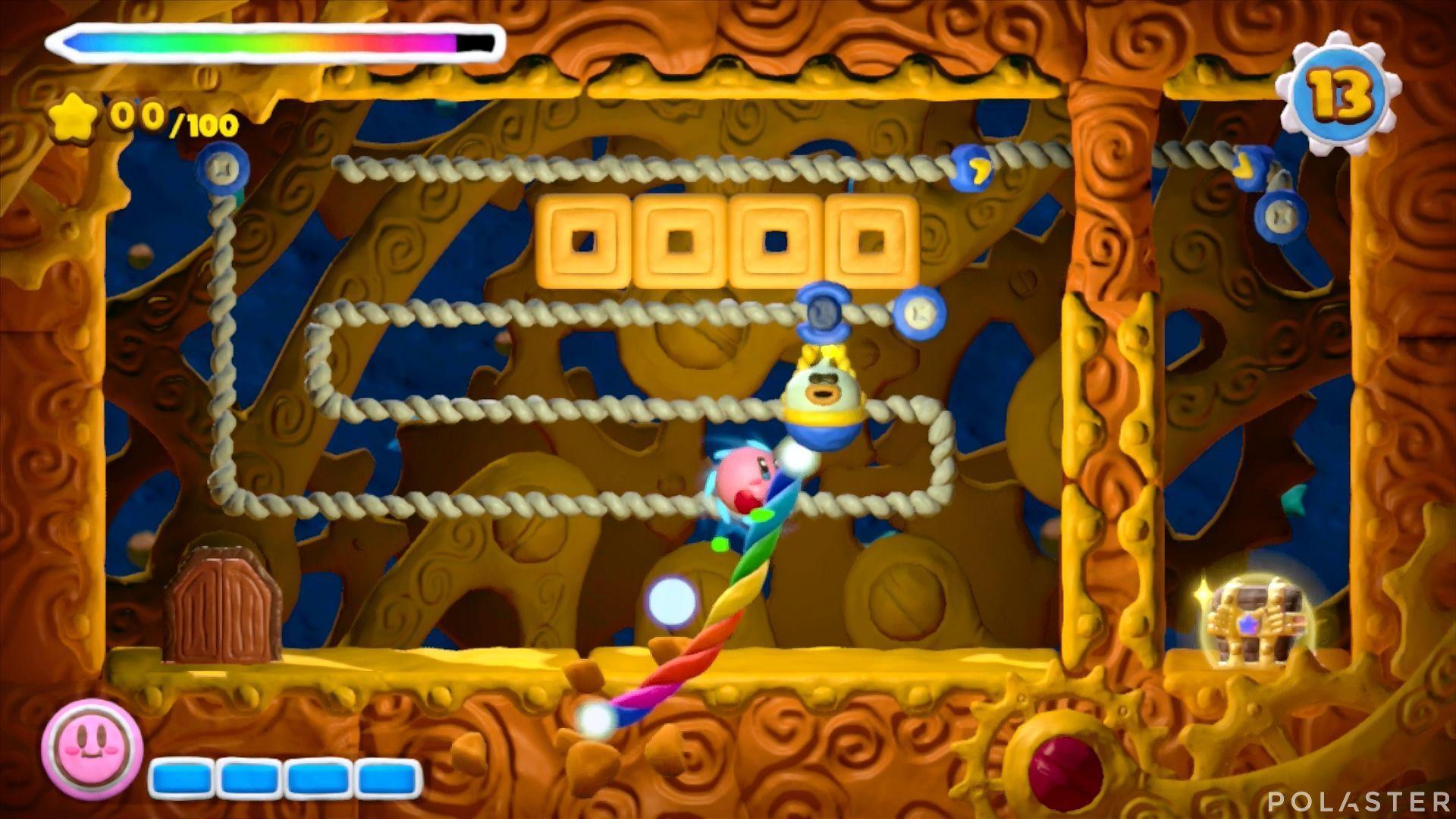 Kirby y el Pincel Arcoíris - Desafío 32: Cofre 1