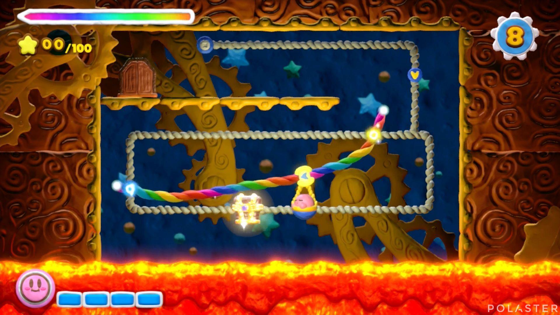 Kirby y el Pincel Arcoíris - Desafío 32: Cofre 2