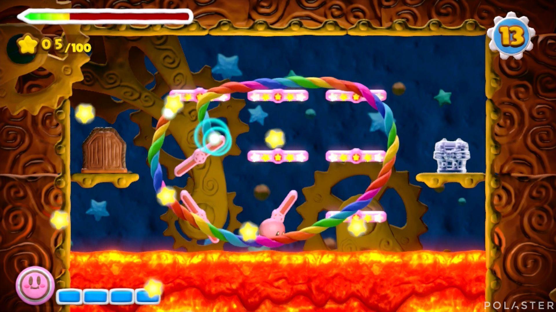 Kirby y el Pincel Arcoíris - Desafío 32: Cofre 3