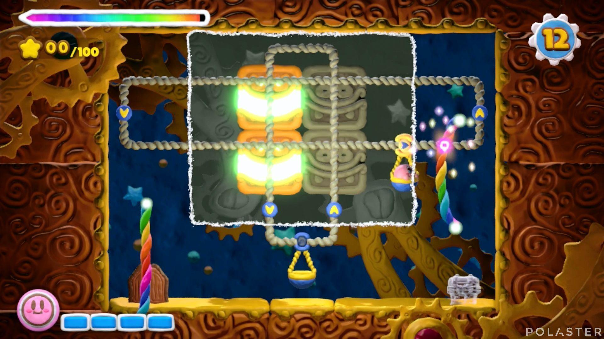 Kirby y el Pincel Arcoíris - Desafío 32: Cofre 4