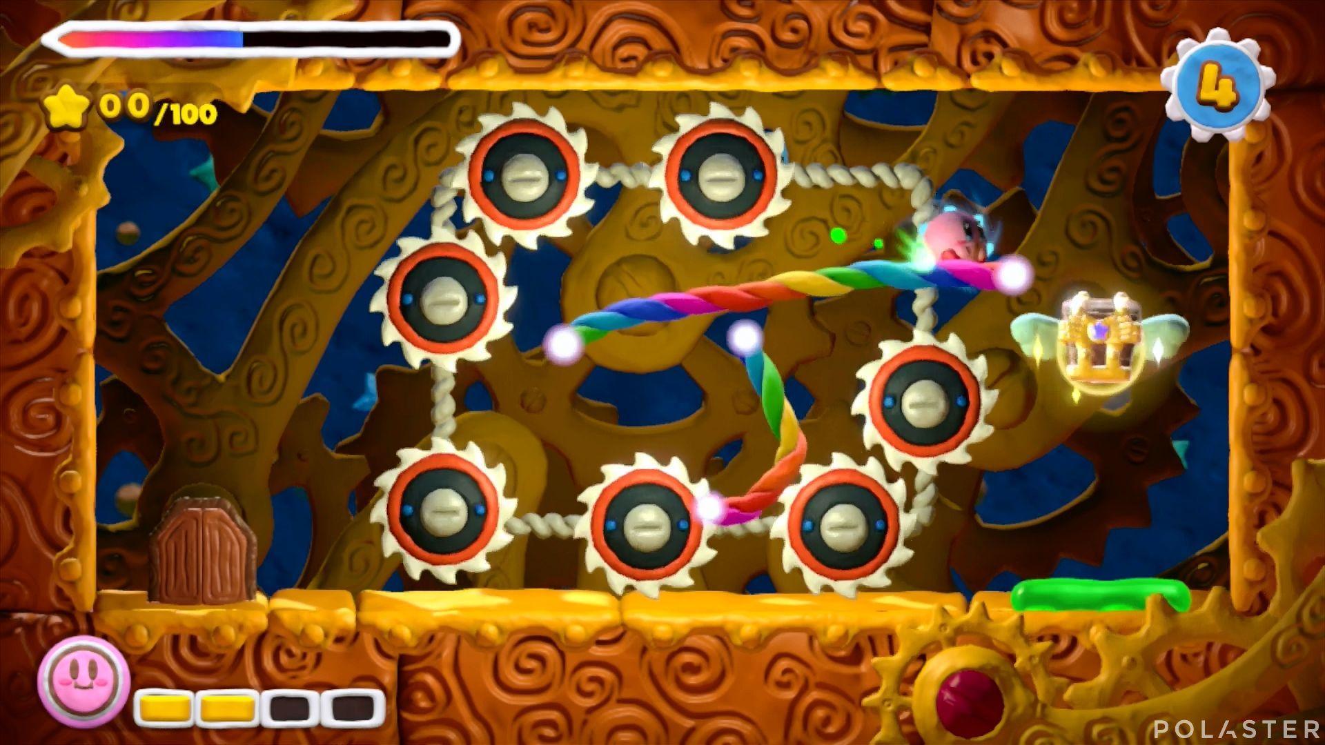 Kirby y el Pincel Arcoíris - Desafío 32: Cofre 5