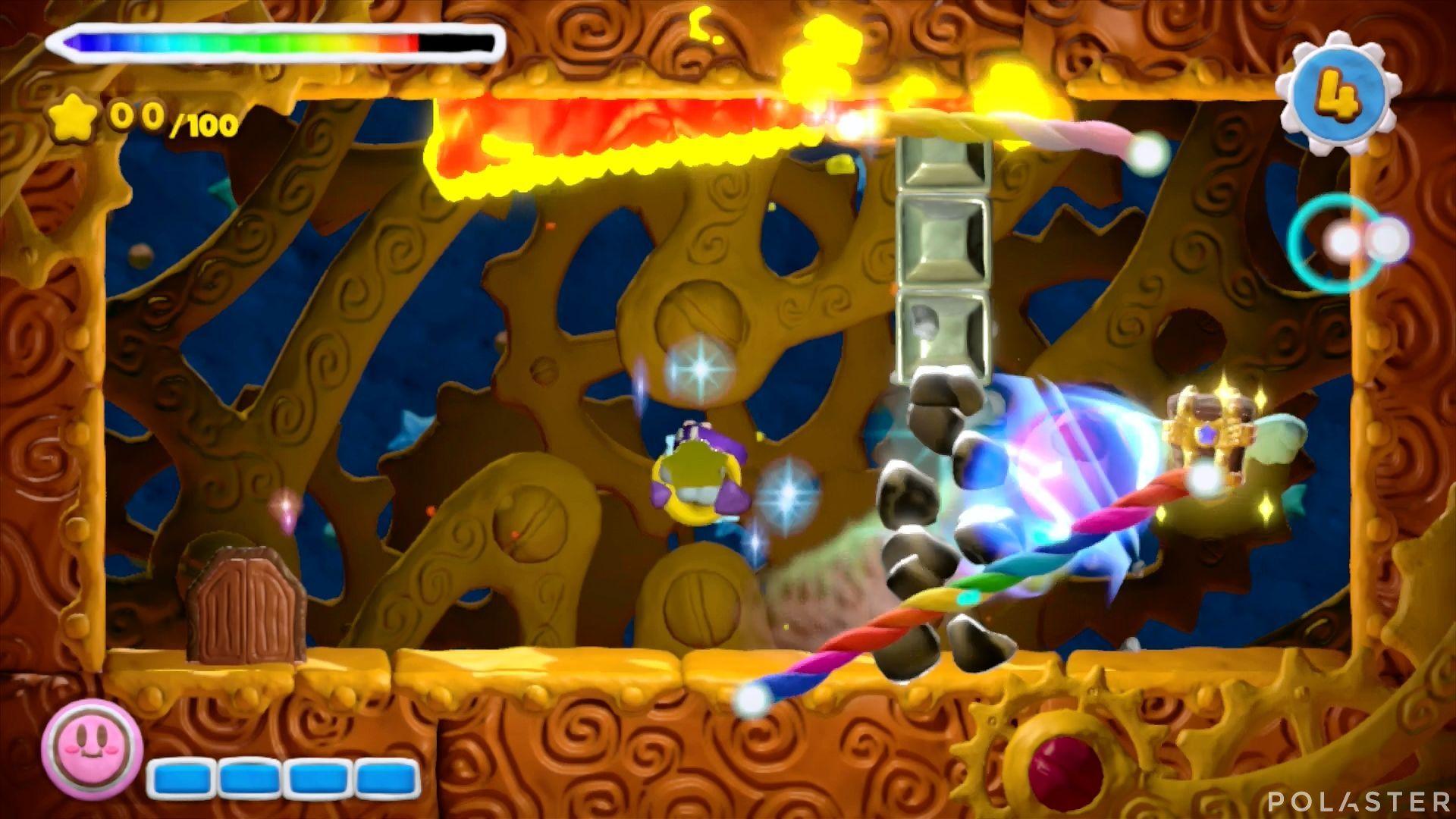 Kirby y el Pincel Arcoíris - Desafío 32: Cofre 6