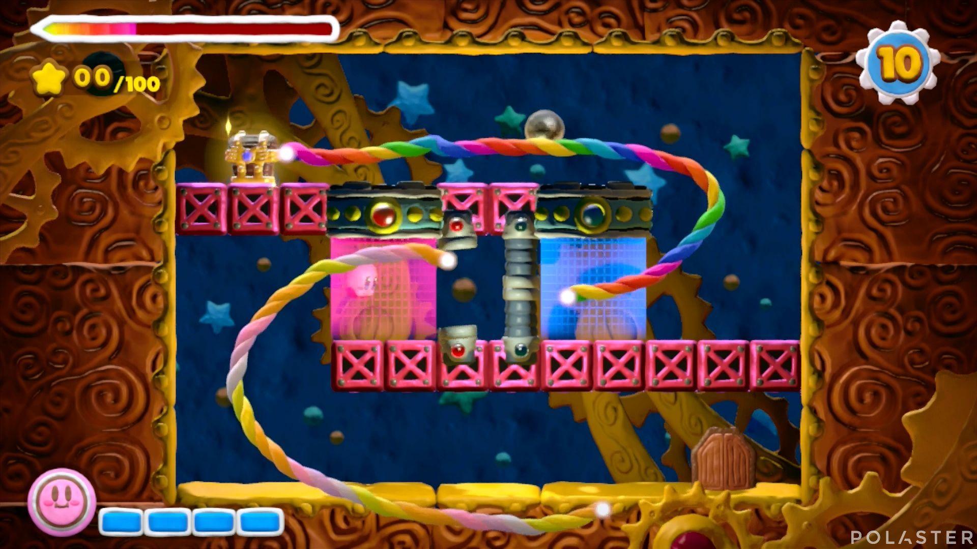 Kirby y el Pincel Arcoíris - Desafío 32: Cofre 7