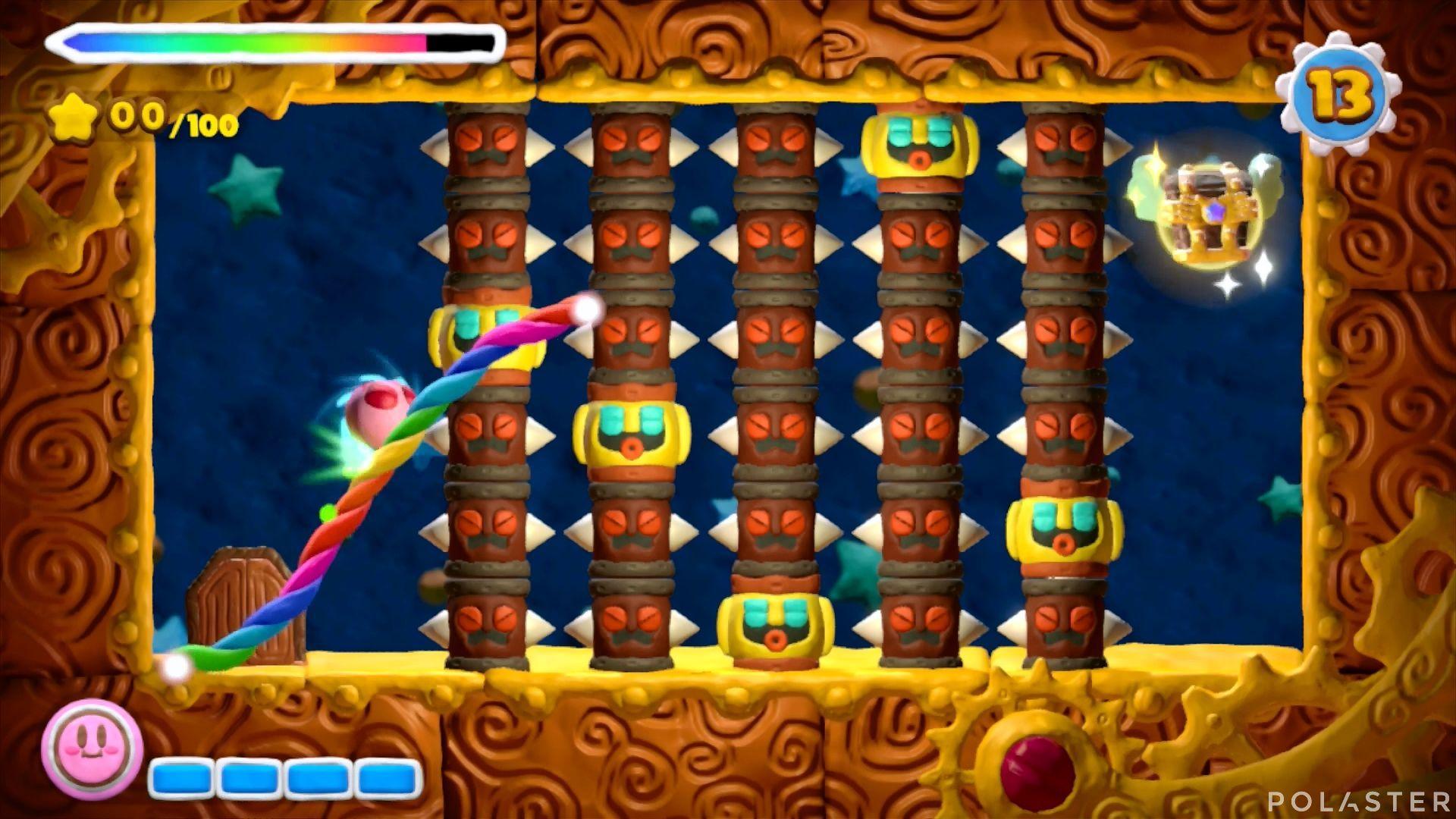 Kirby y el Pincel Arcoíris - Desafío 32: Cofre 8