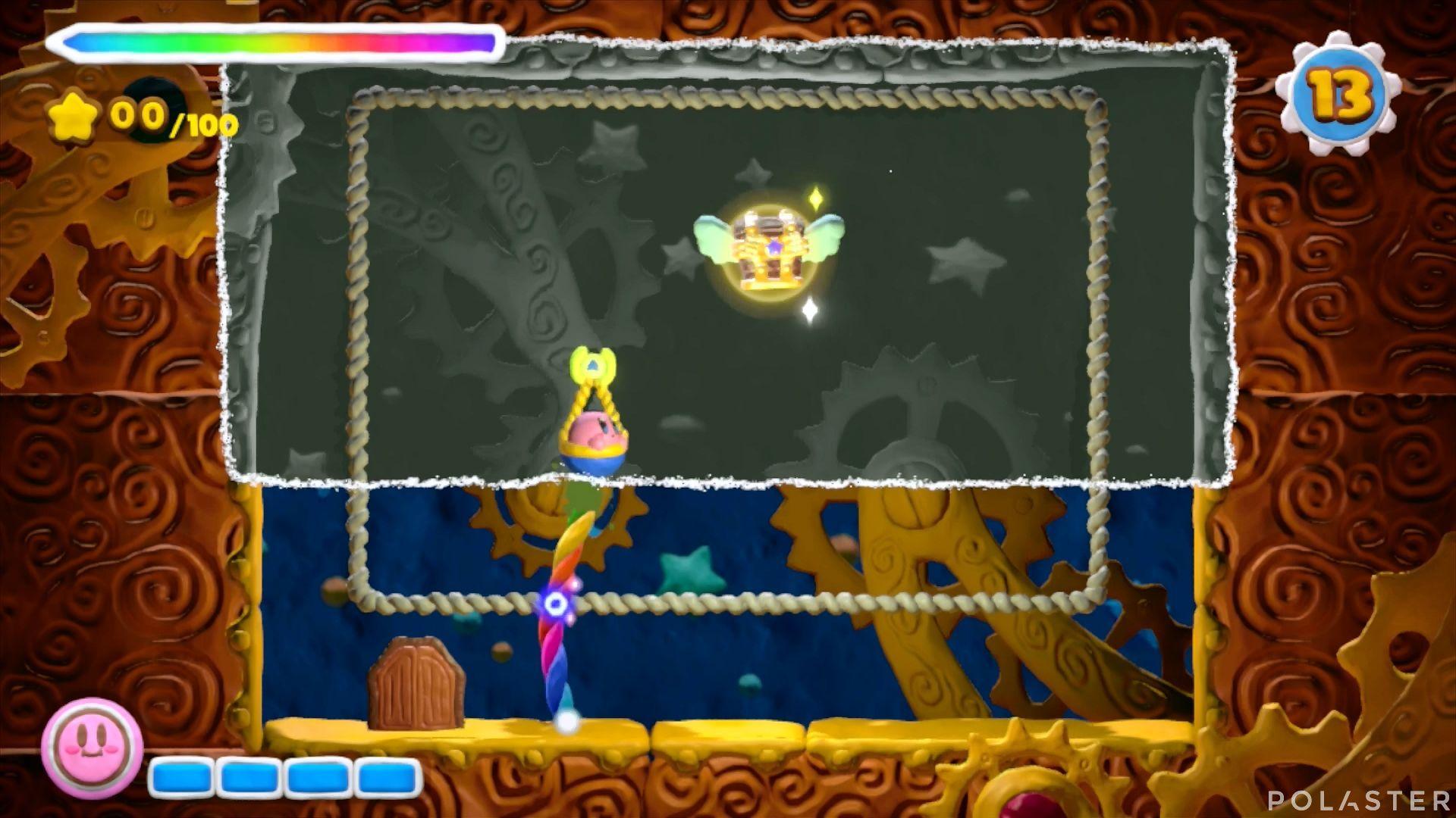 Kirby y el Pincel Arcoíris - Desafío 32: Cofre 9