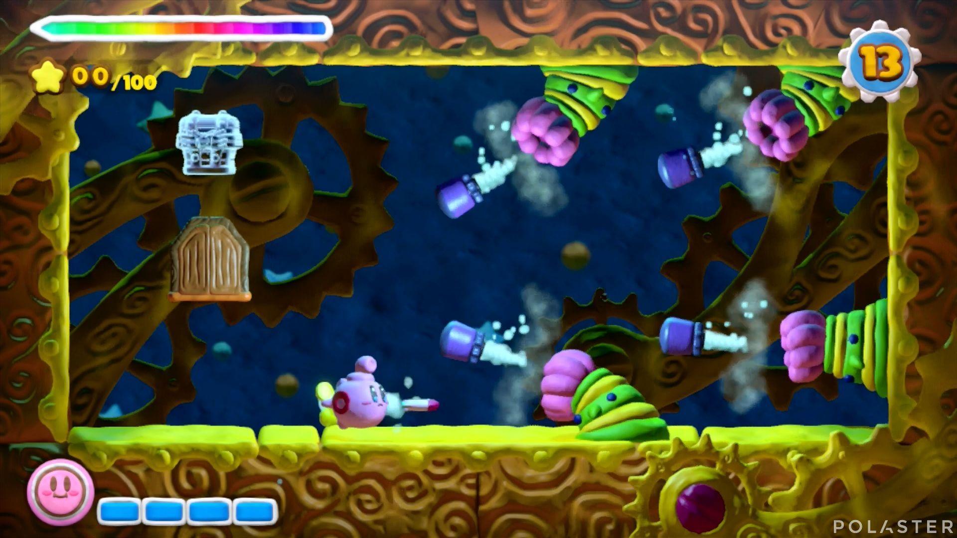 Kirby y el Pincel Arcoíris - Desafío 33: Cofre 2