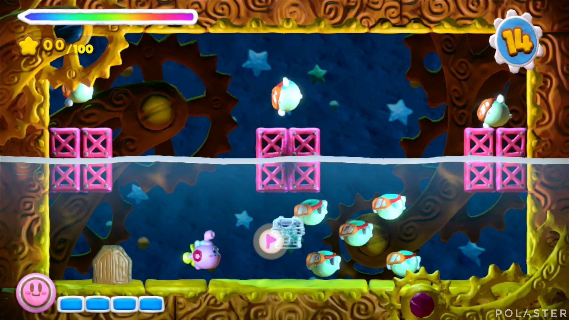 Kirby y el Pincel Arcoíris - Desafío 33: Cofre 3