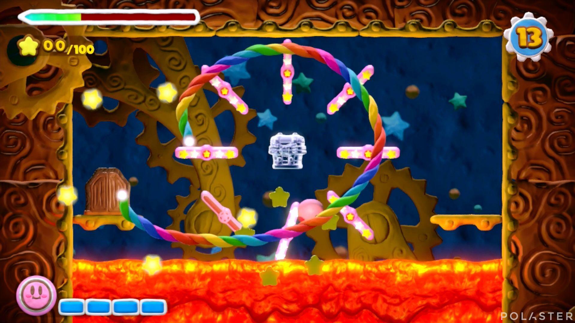 Kirby y el Pincel Arcoíris - Desafío 34: Cofre 1