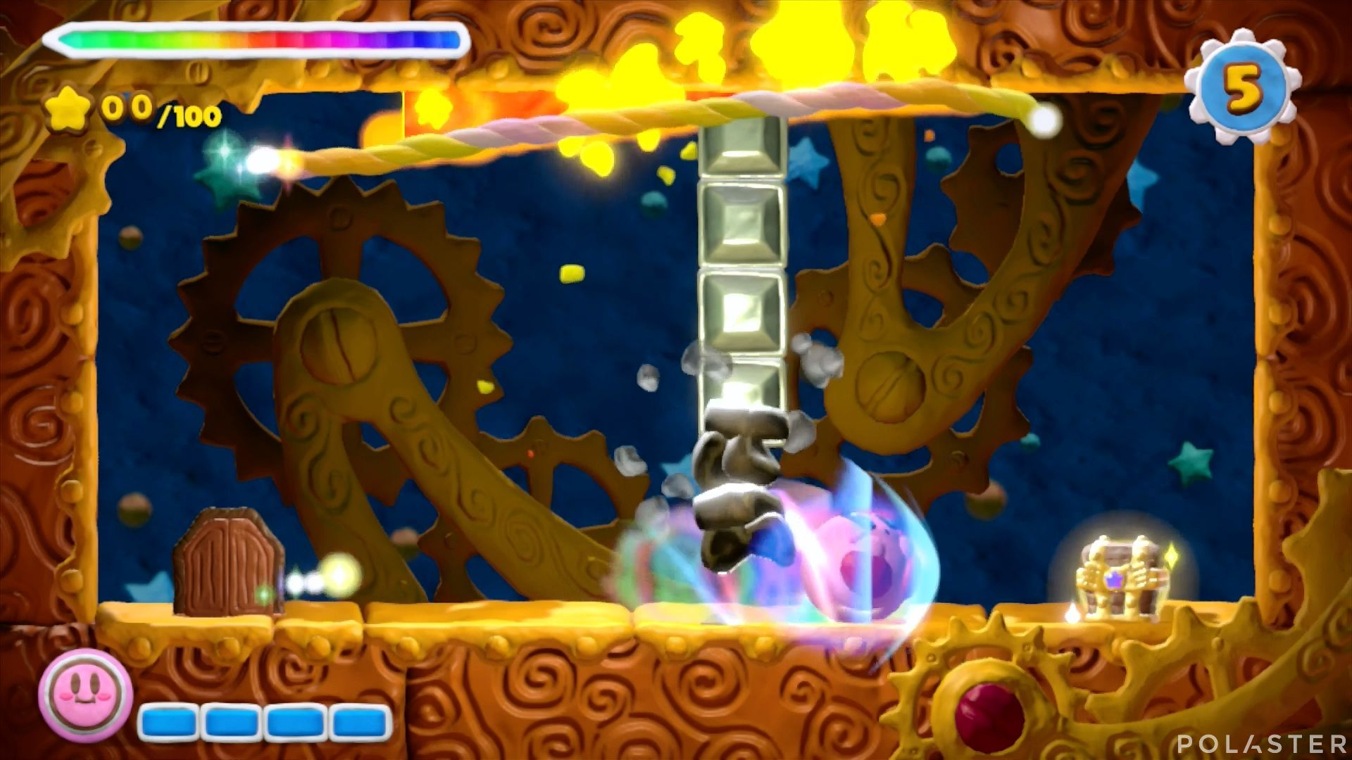 Kirby y el Pincel Arcoíris - Desafío 34: Cofre 4