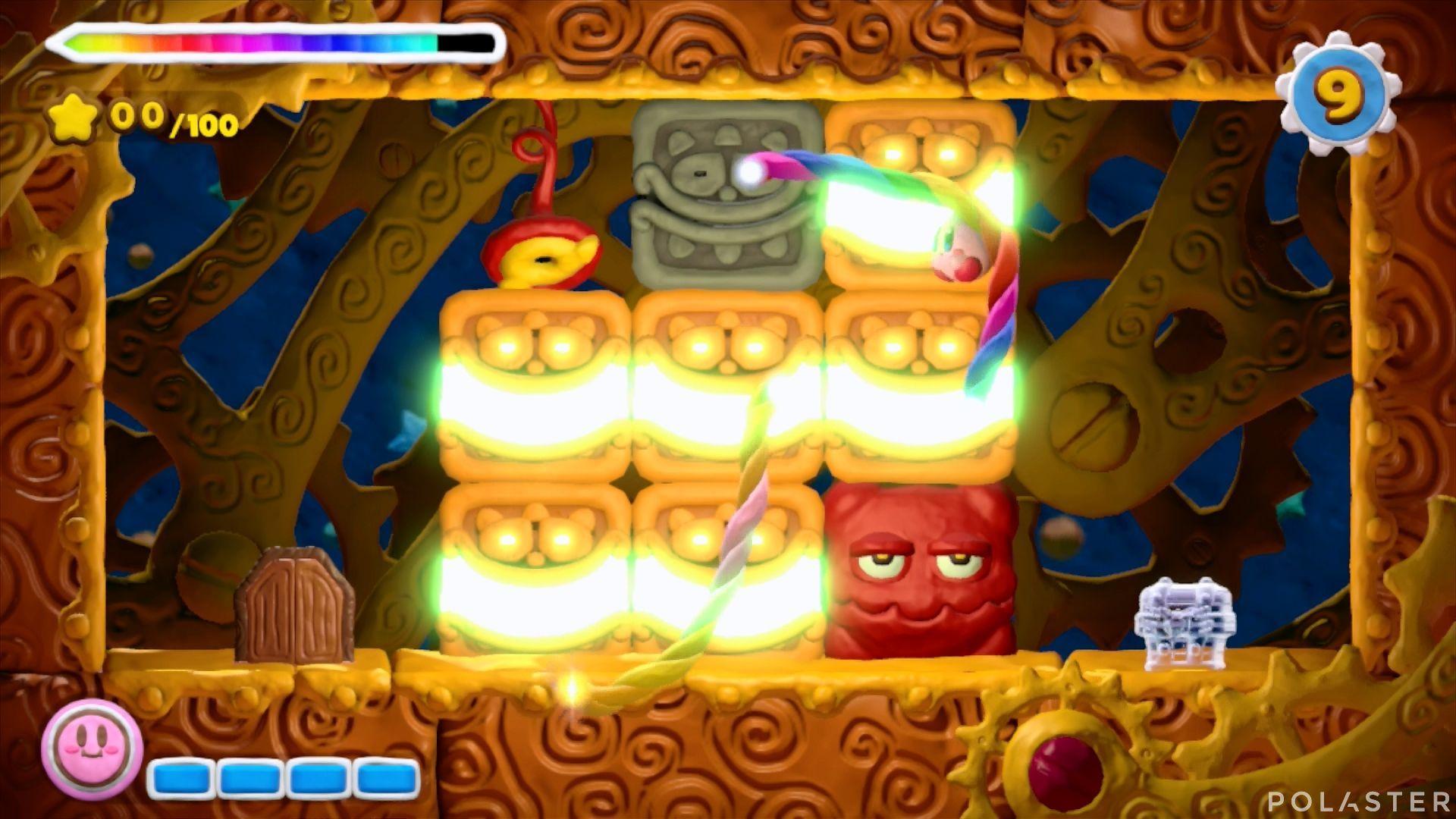 Kirby y el Pincel Arcoíris - Desafío 35: Cofre 1
