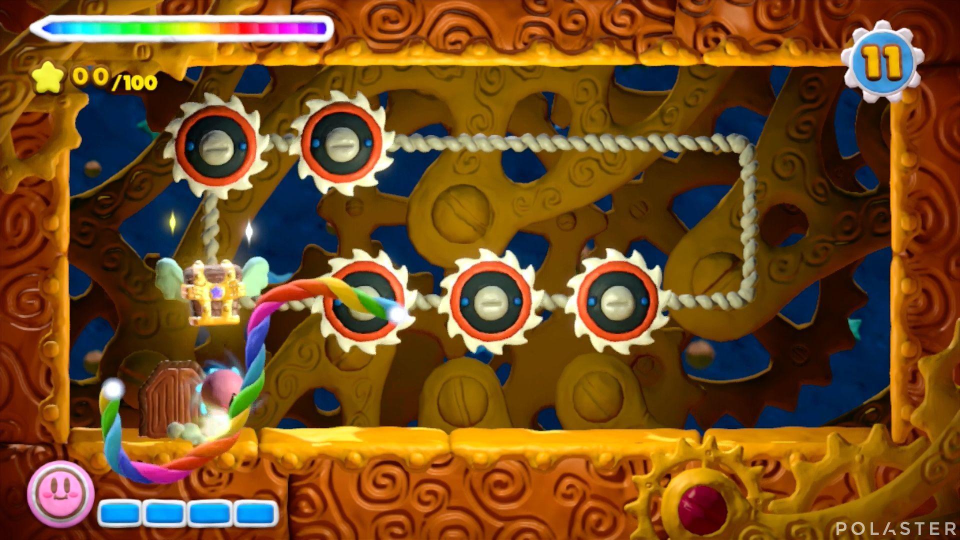 Kirby y el Pincel Arcoíris - Desafío 36: Cofre 1