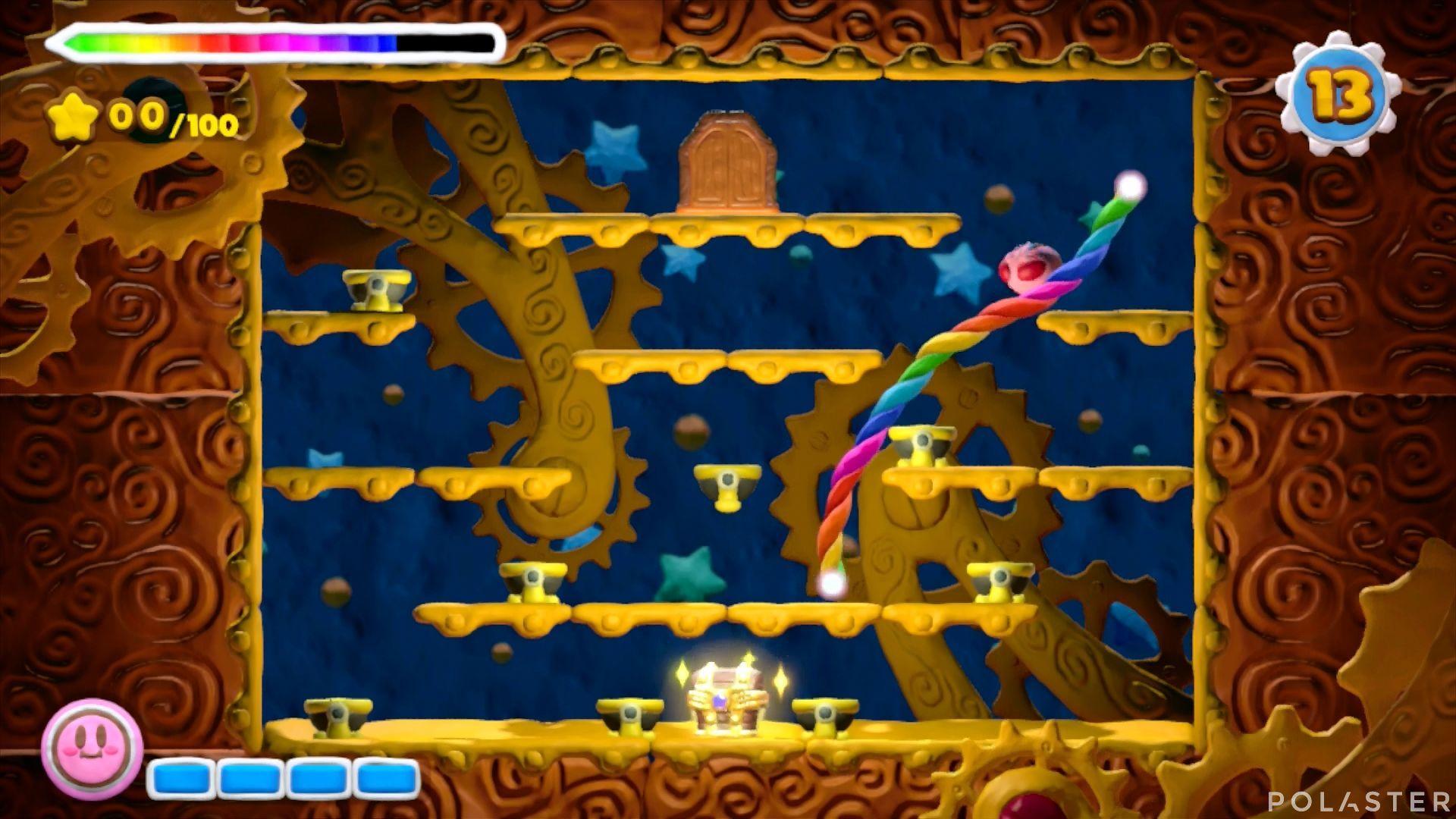 Kirby y el Pincel Arcoíris - Desafío 36: Cofre 3
