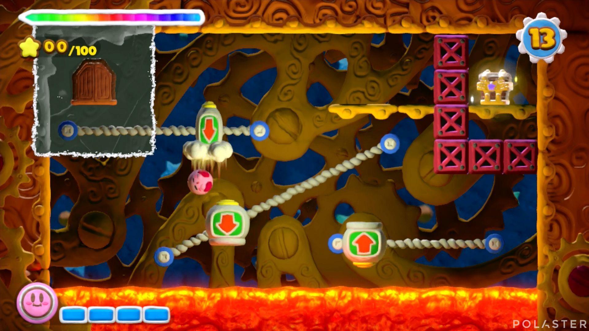 Kirby y el Pincel Arcoíris - Desafío 36: Cofre 4