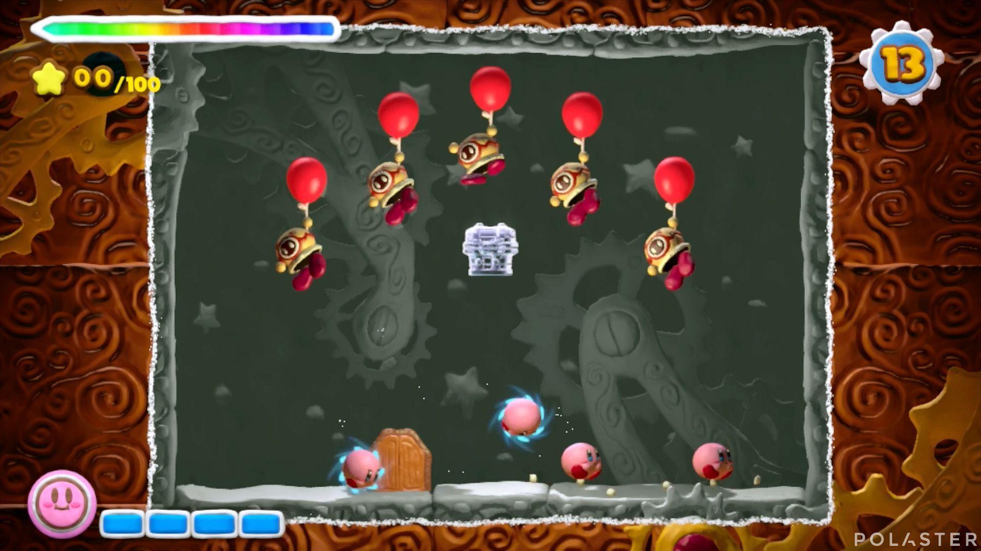 Kirby y el Pincel Arcoíris - Desafío 38: Cofre 4