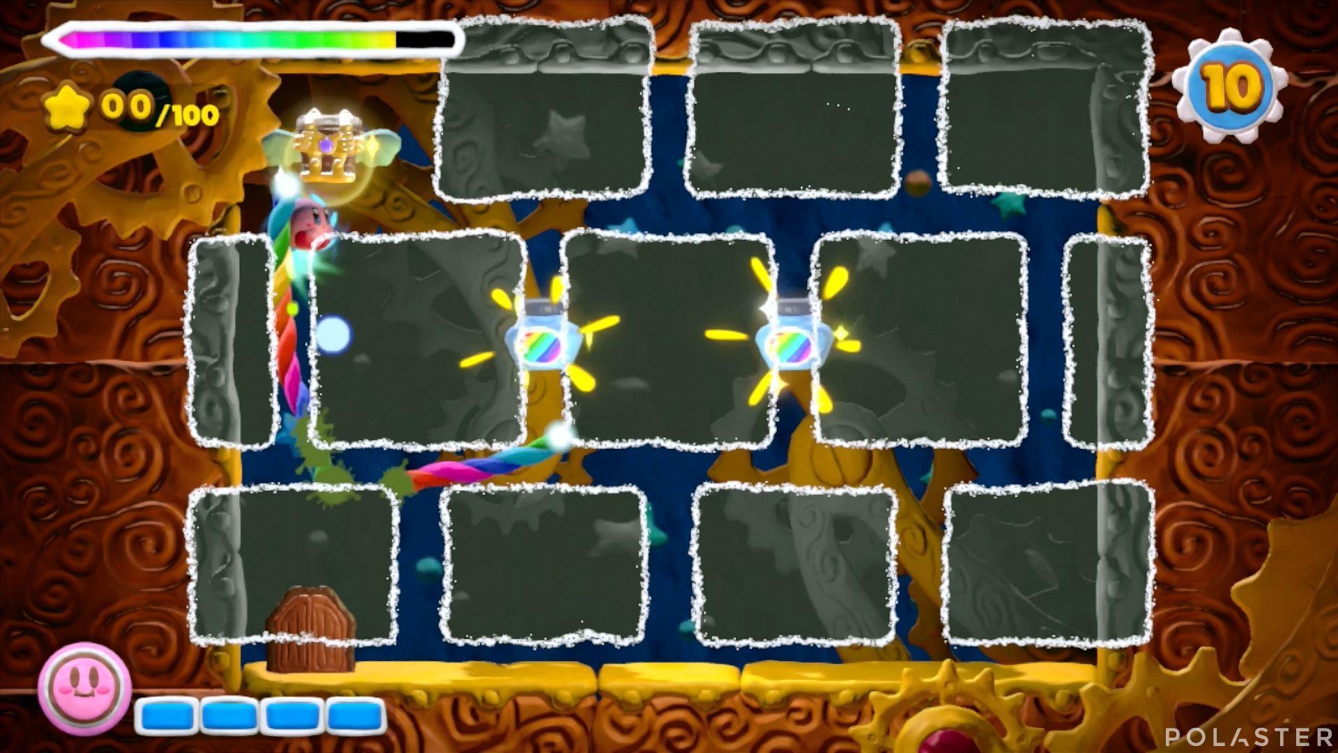 Kirby y el Pincel Arcoíris - Desafío 39: Cofre 1