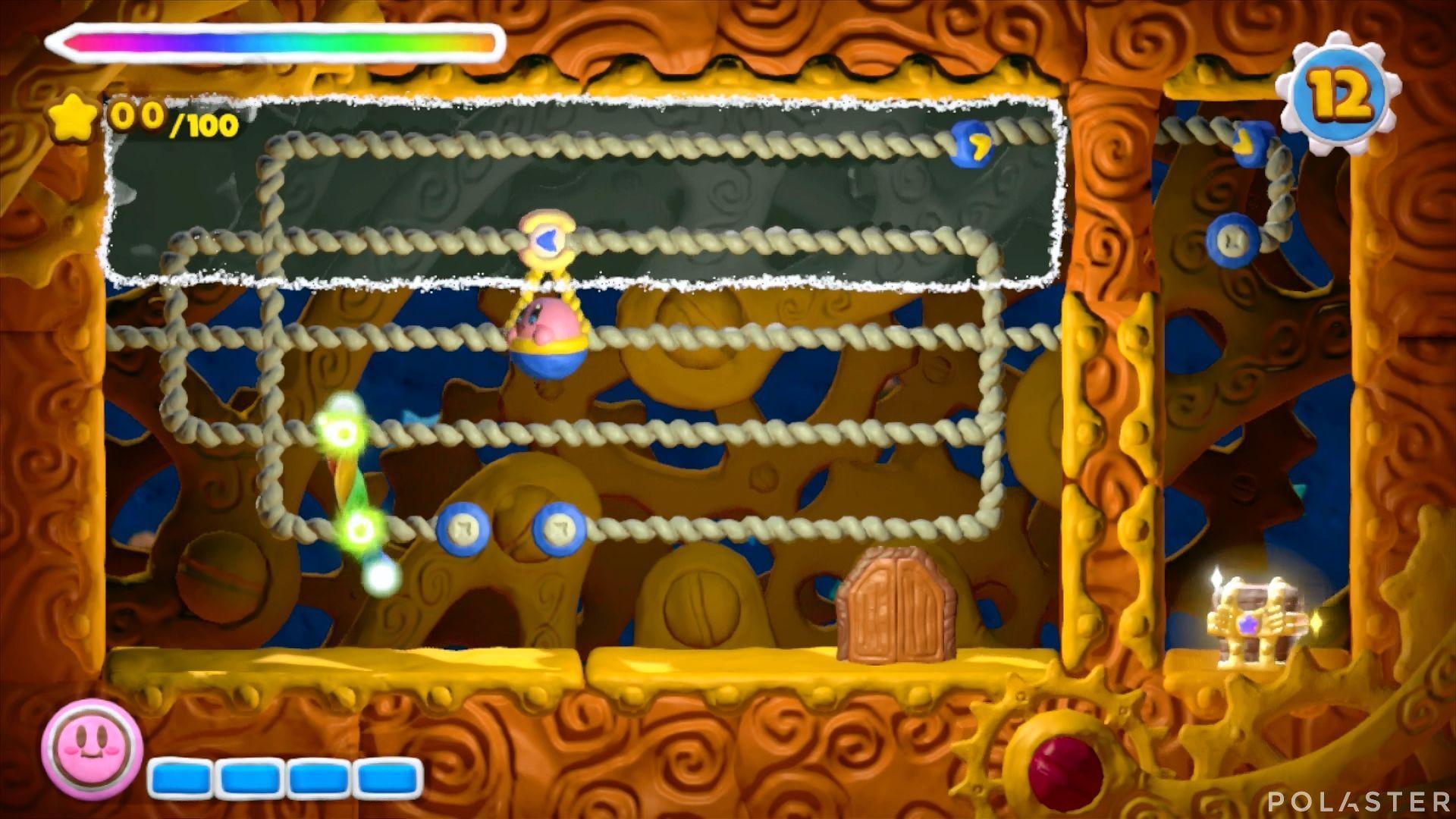 Kirby y el Pincel Arcoíris - Desafío 39: Cofre 2