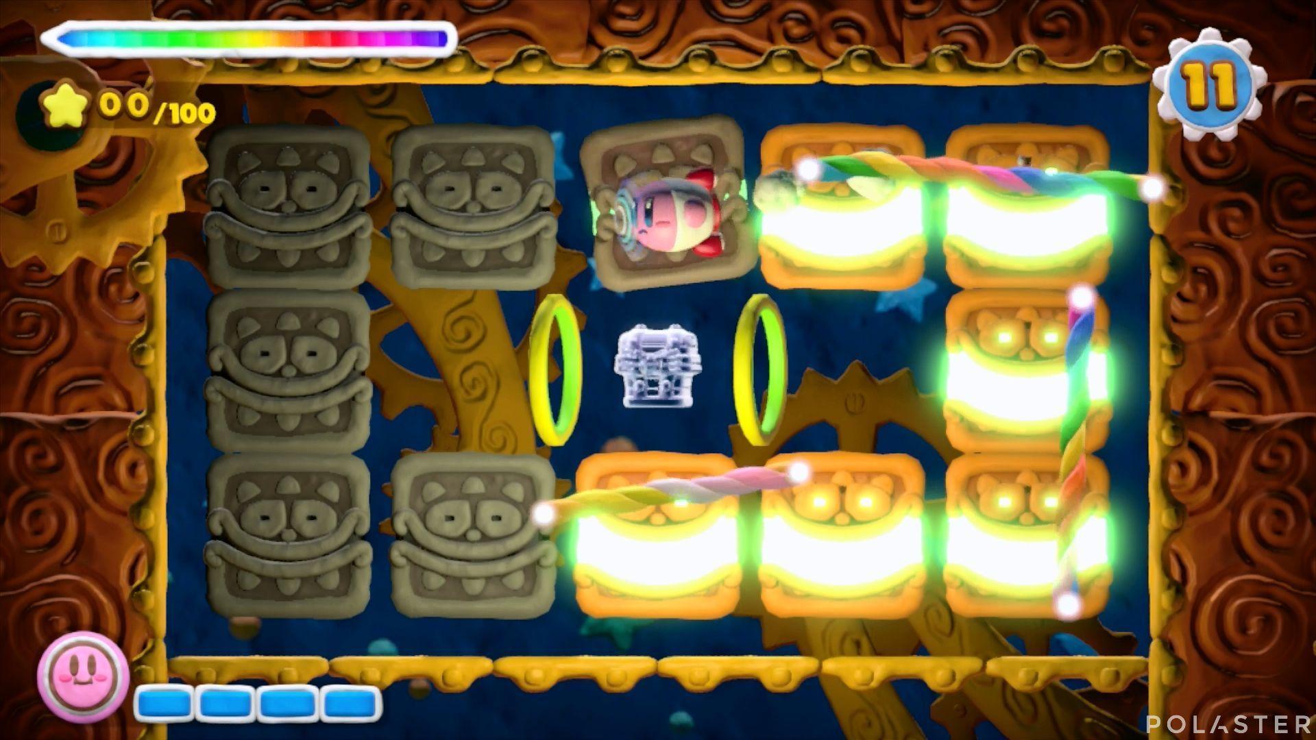 Kirby y el Pincel Arcoíris - Desafío 39: Cofre 3