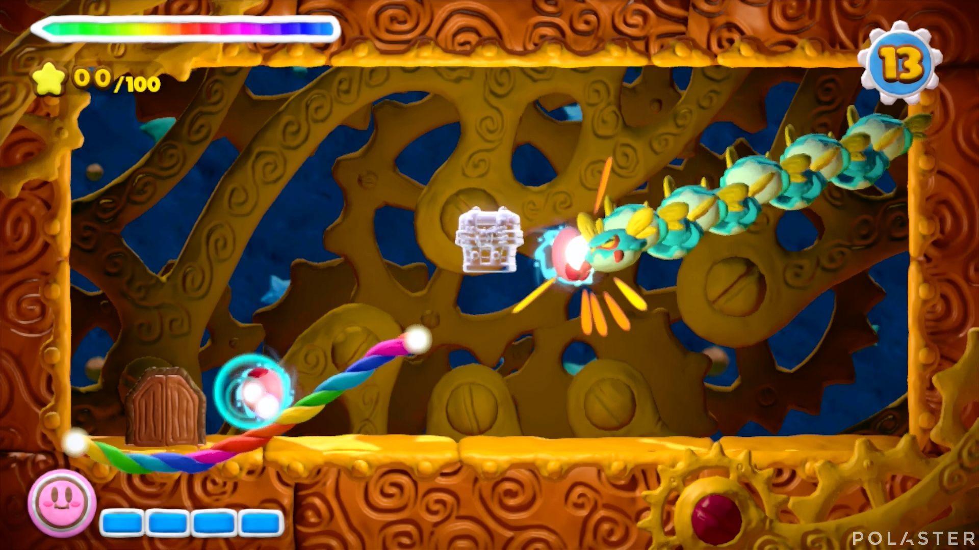 Kirby y el Pincel Arcoíris - Desafío 40: Cofre 11