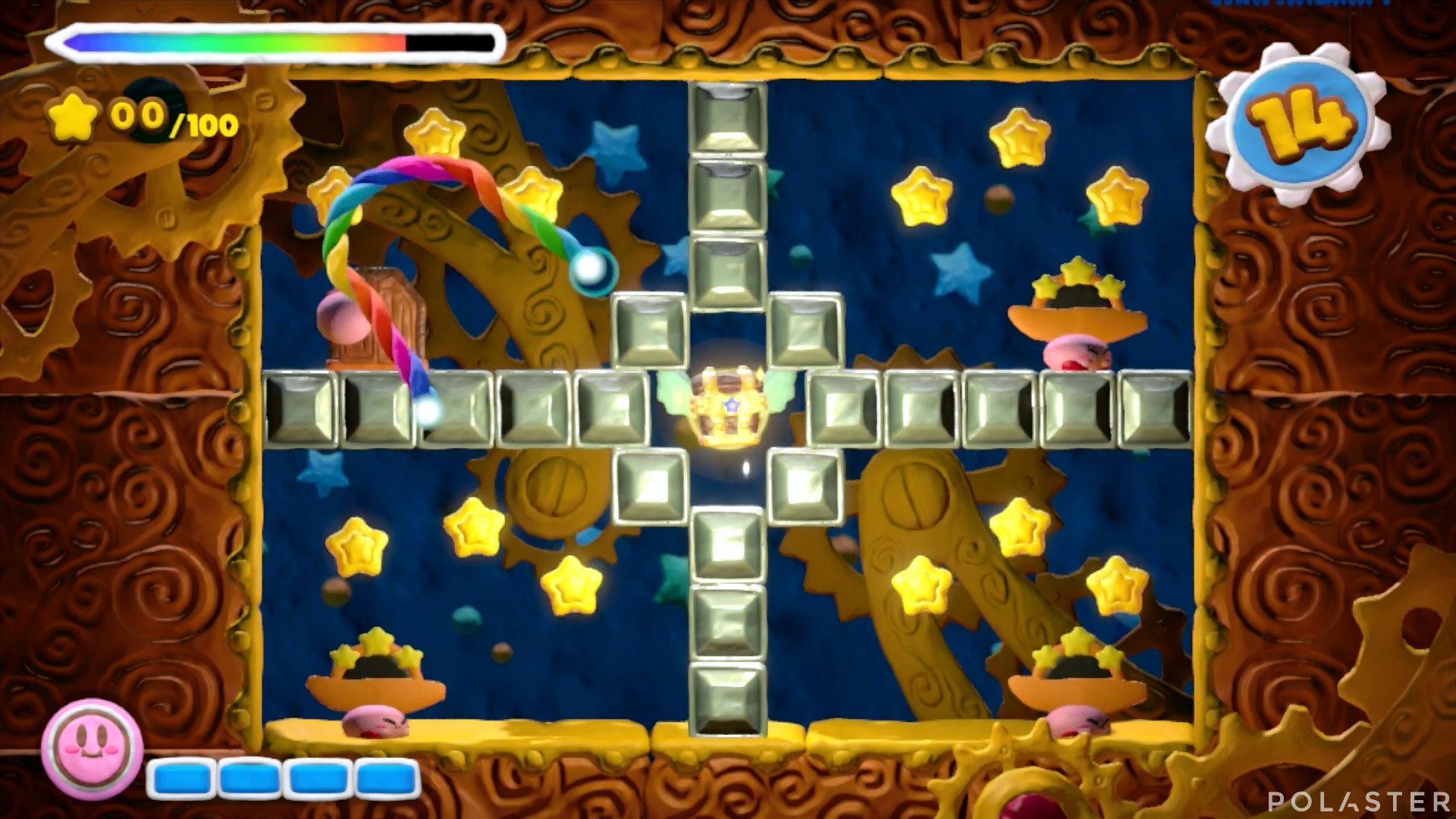 Kirby y el Pincel Arcoíris - Desafío 40: Cofre 12