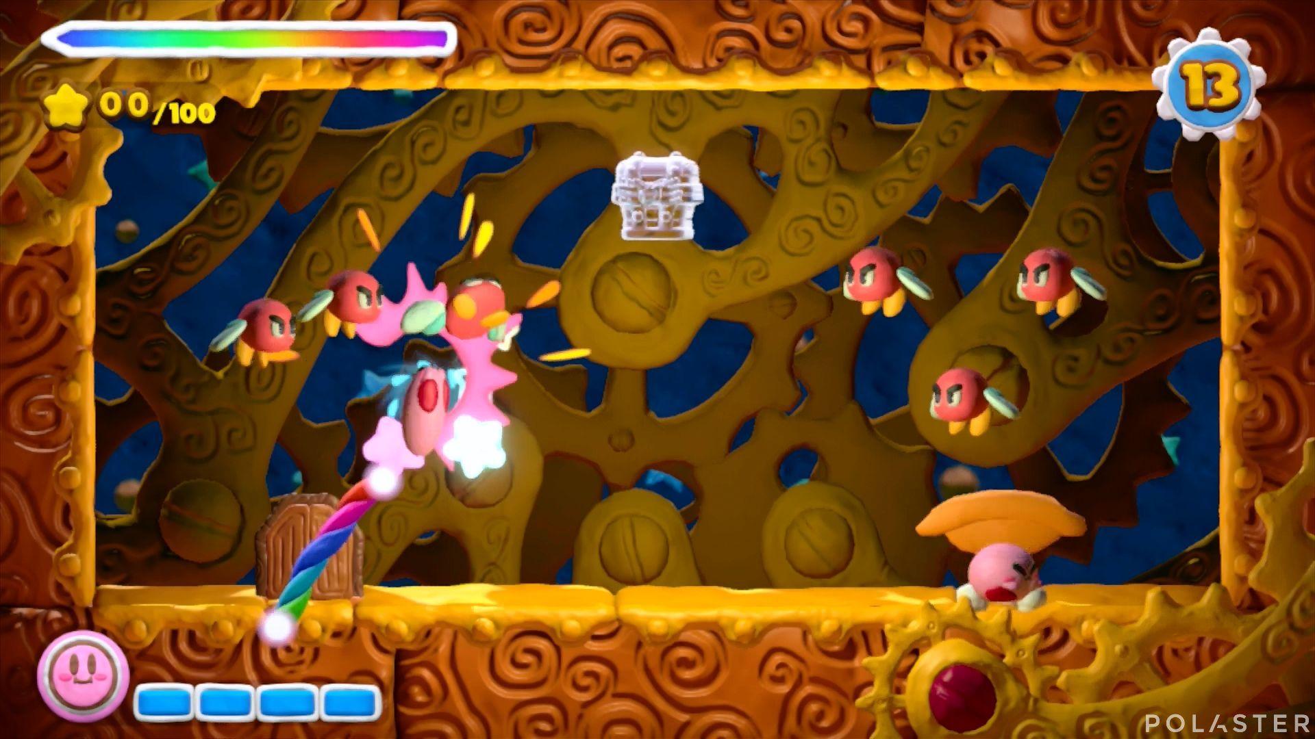 Kirby y el Pincel Arcoíris - Desafío 40: Cofre 4