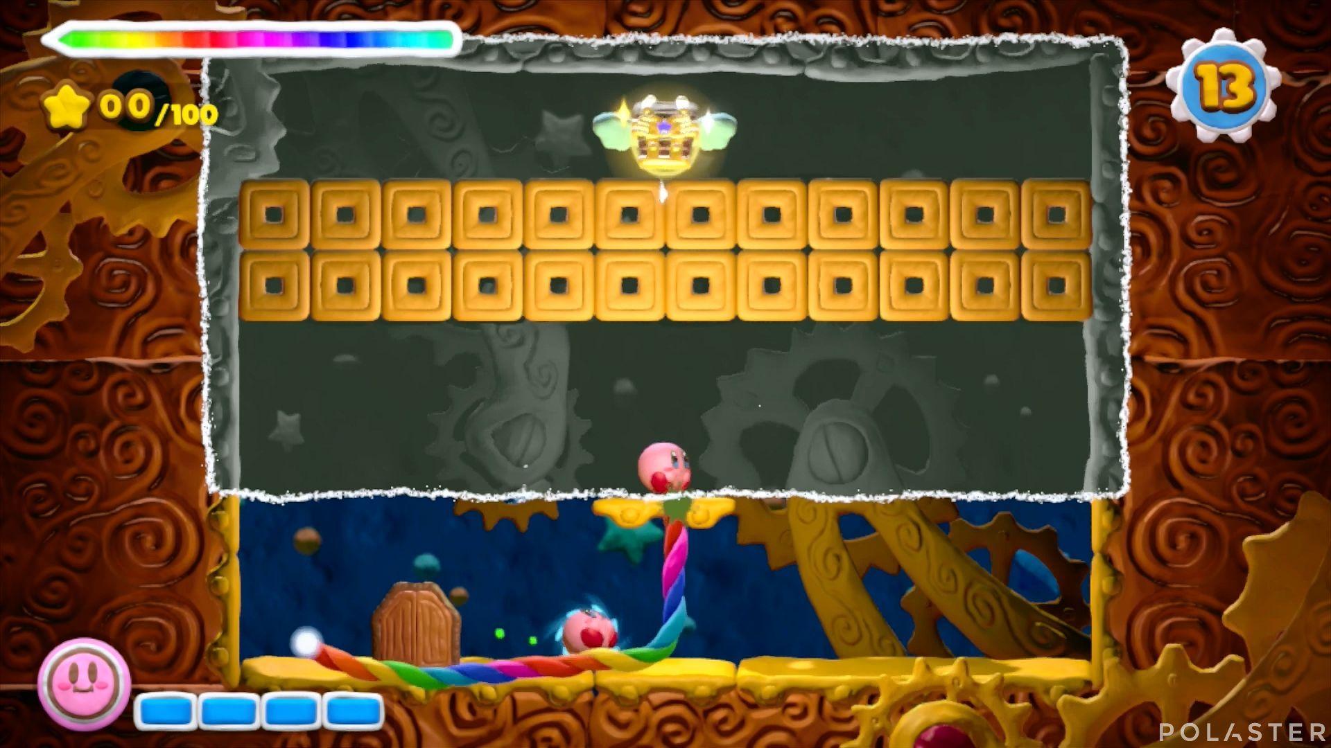 Kirby y el Pincel Arcoíris - Desafío 40: Cofre 7