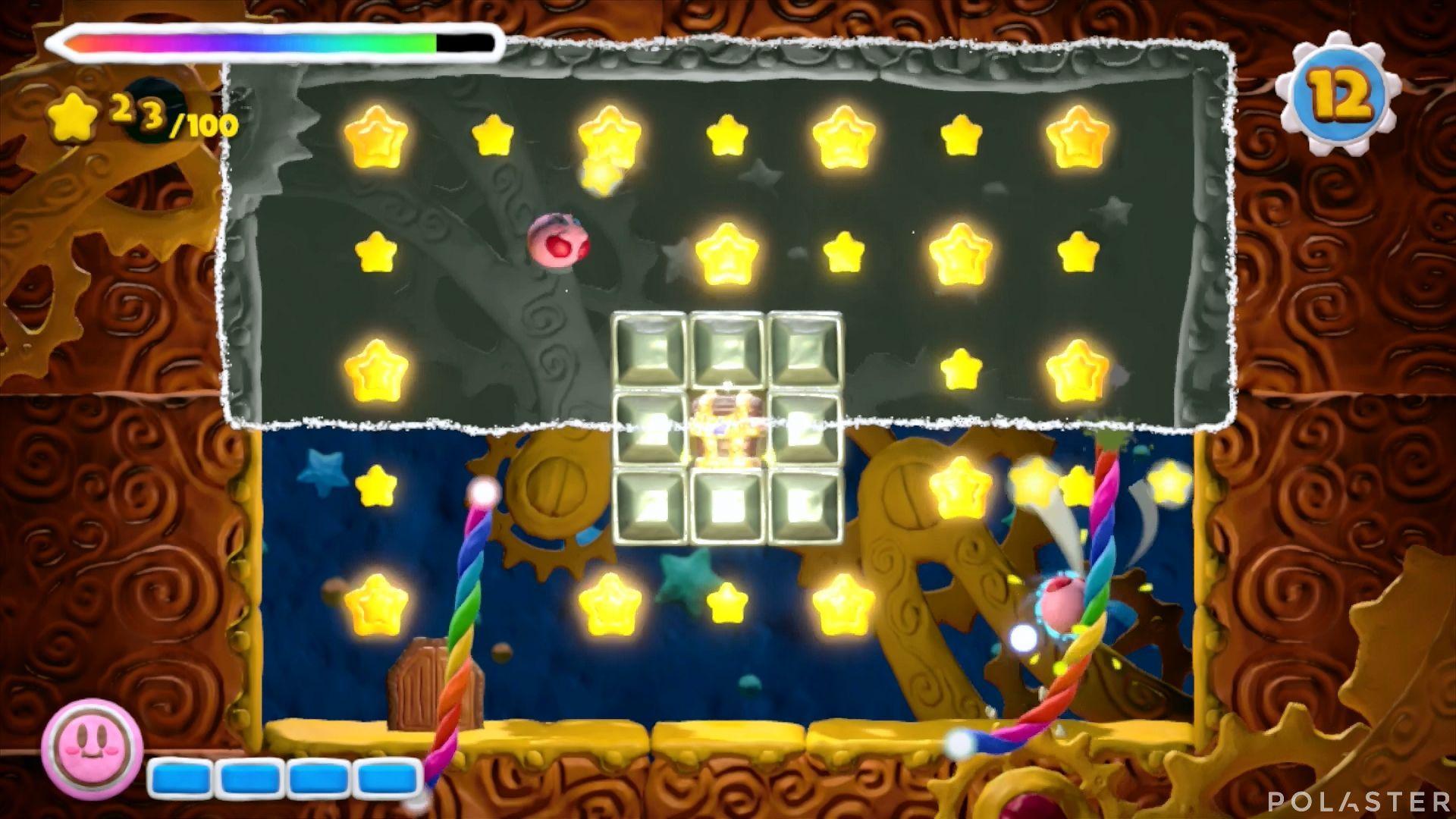 Kirby y el Pincel Arcoíris - Desafío 40: Cofre 8