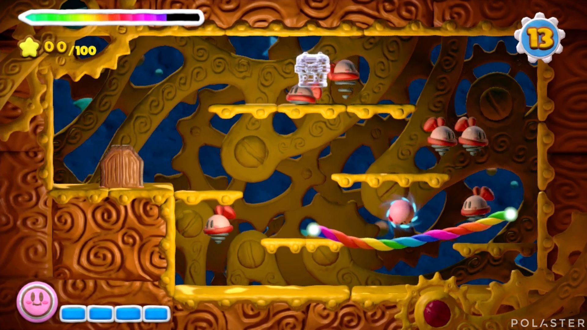 Kirby y el Pincel Arcoíris - Desafío 41: Cofre 1