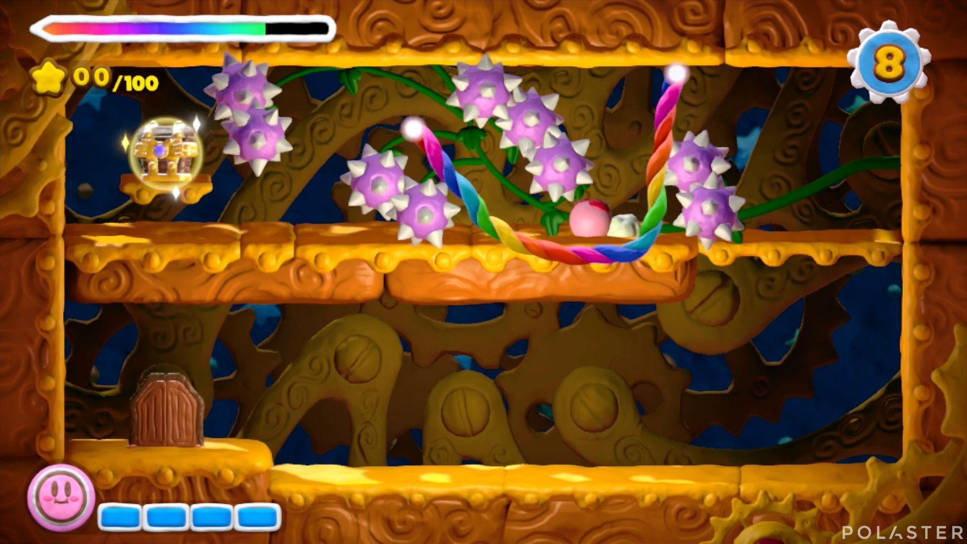 Kirby y el Pincel Arcoíris - Desafío 41: Cofre 3