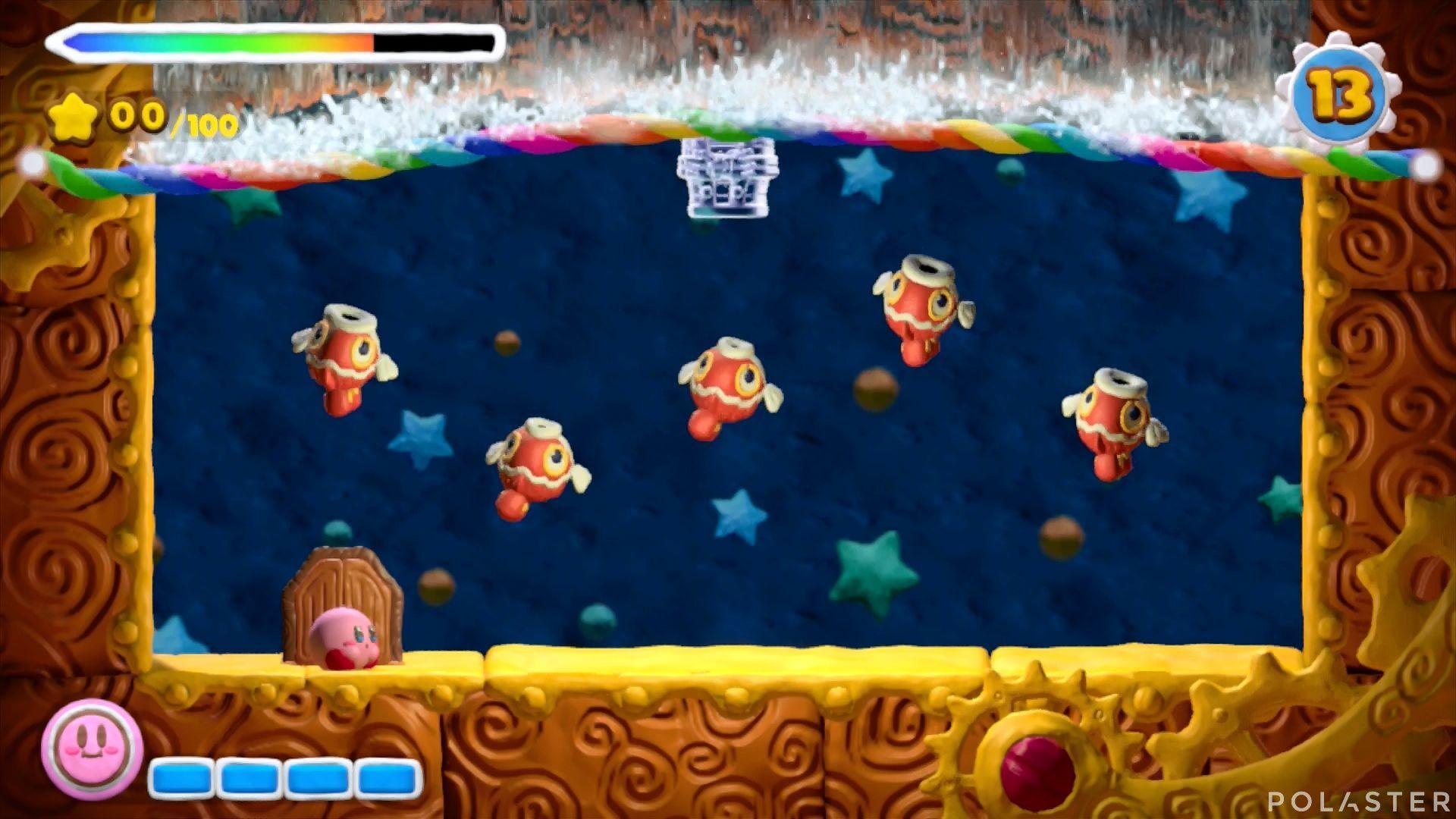 Kirby y el Pincel Arcoíris - Desafío 41: Cofre 4