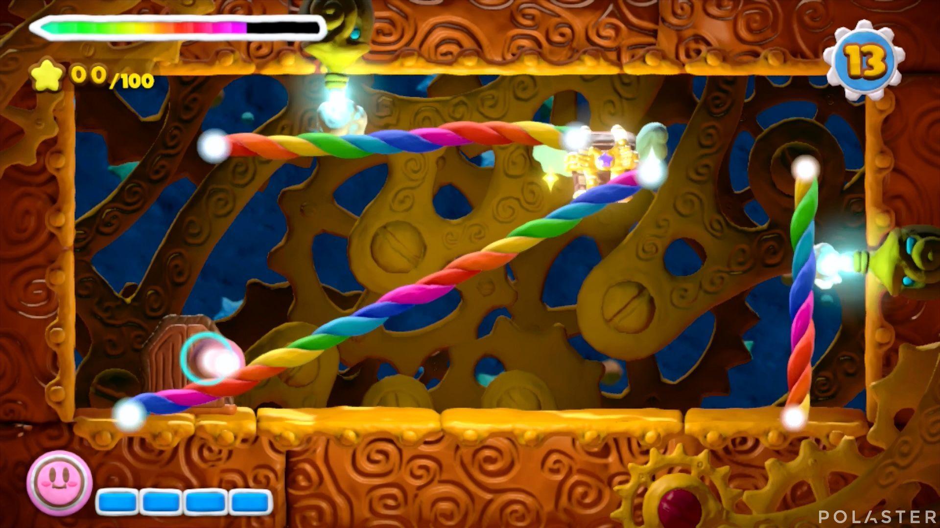Kirby y el Pincel Arcoíris - Desafío 42: Cofre 1
