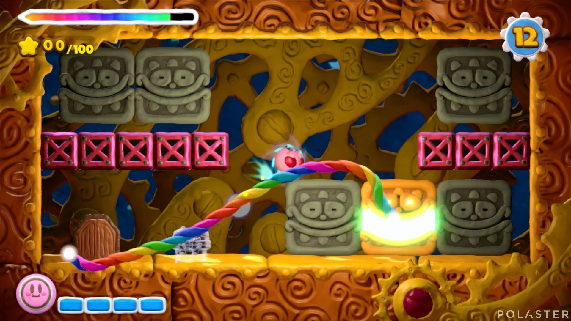 Kirby y el Pincel Arcoíris - Desafío 42: Cofre 3