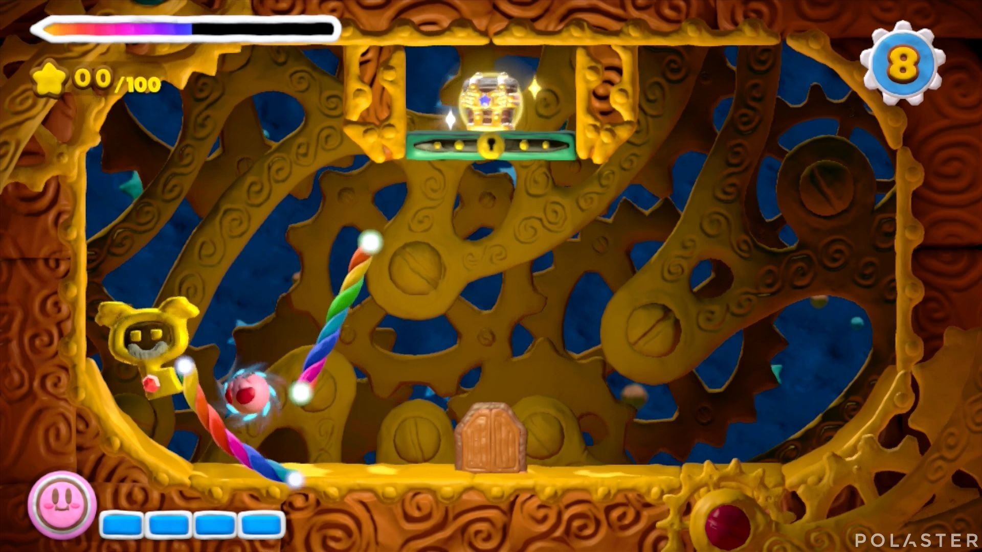 Kirby y el Pincel Arcoíris - Desafío 42: Cofre 4