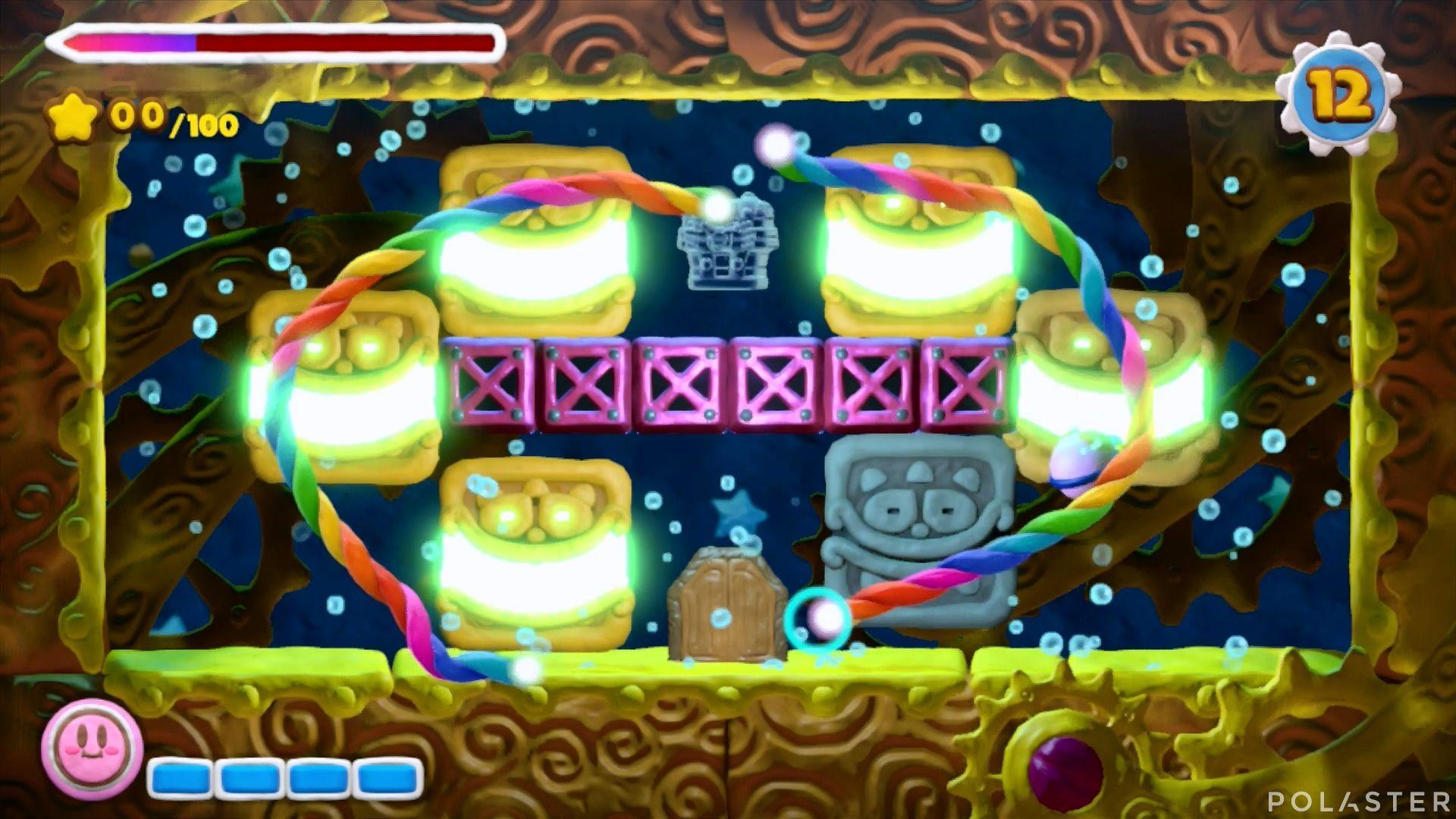 Kirby y el Pincel Arcoíris - Desafío 43: Cofre 3