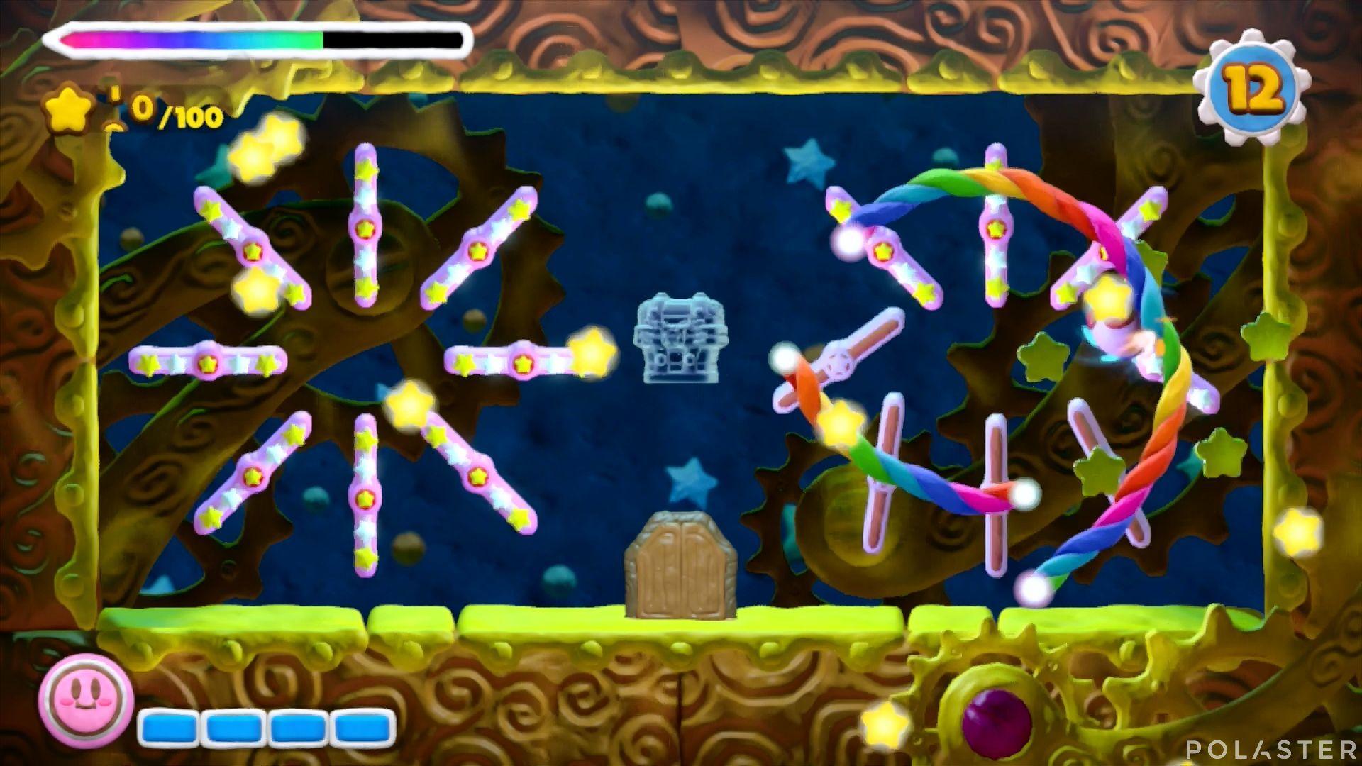 Kirby y el Pincel Arcoíris - Desafío 43: Cofre 4