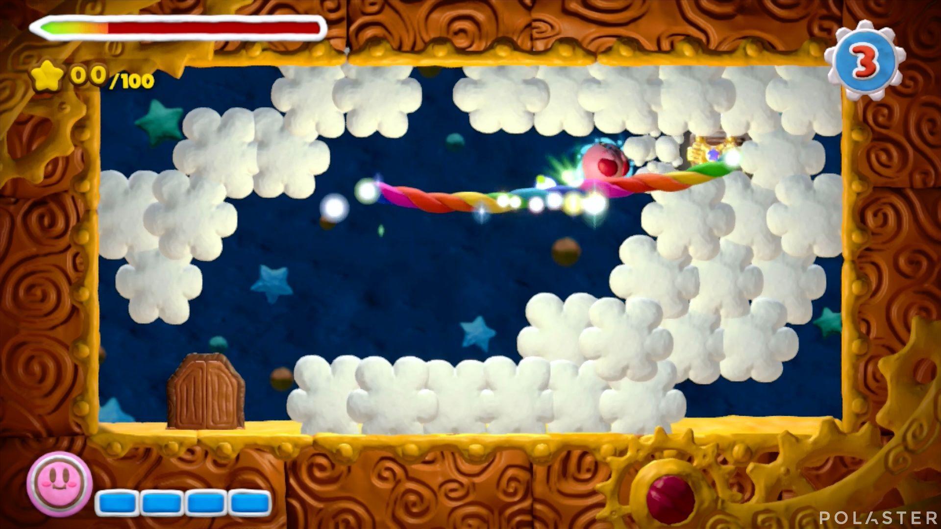 Kirby y el Pincel Arcoíris - Desafío 44: Cofre 1