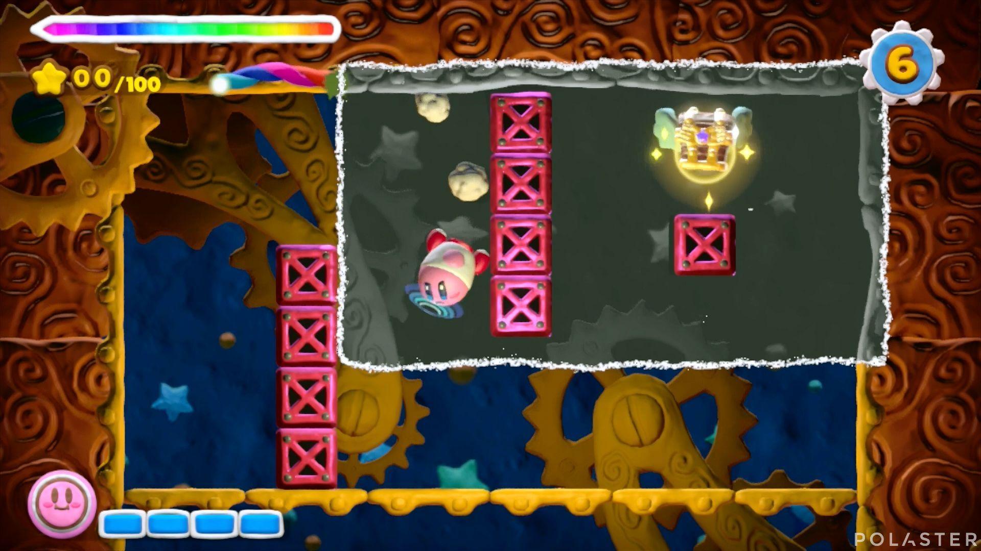 Kirby y el Pincel Arcoíris - Desafío 44: Cofre 2