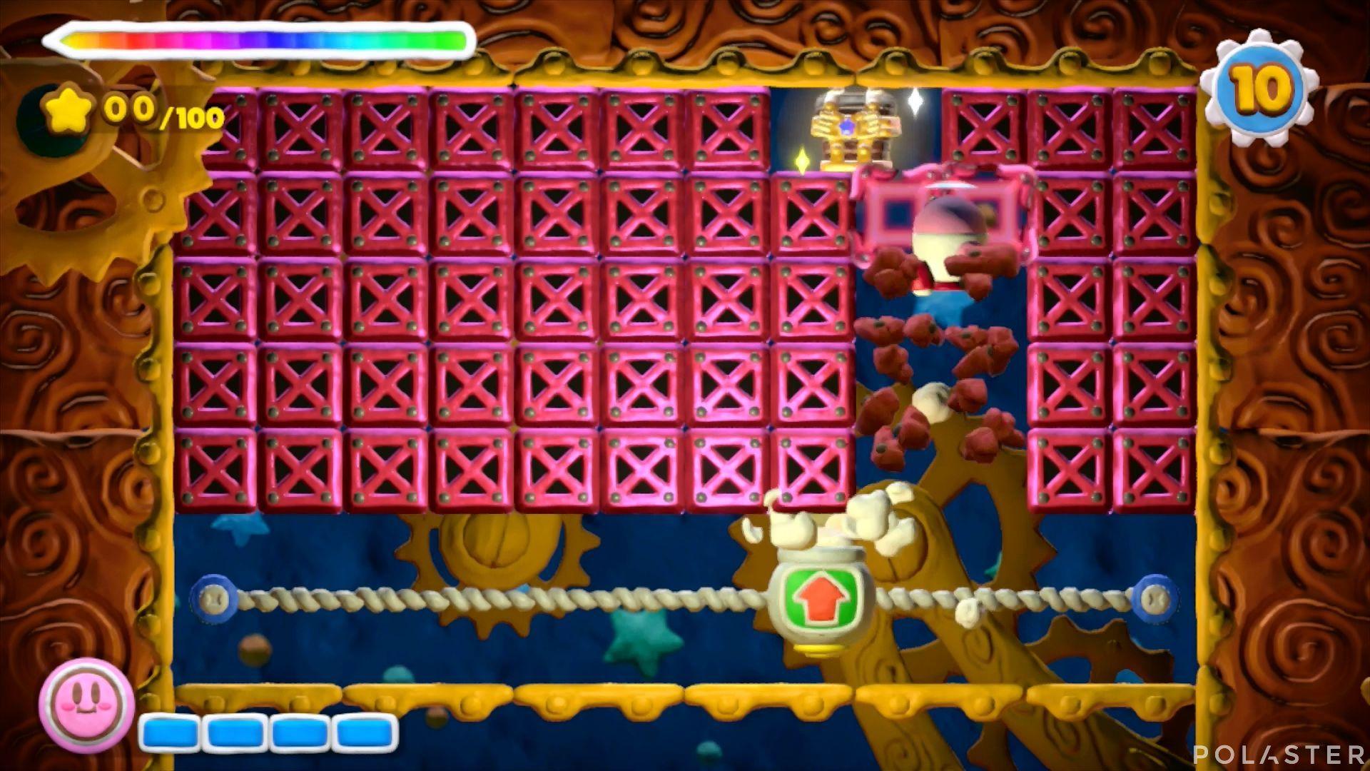 Kirby y el Pincel Arcoíris - Desafío 44: Cofre 3