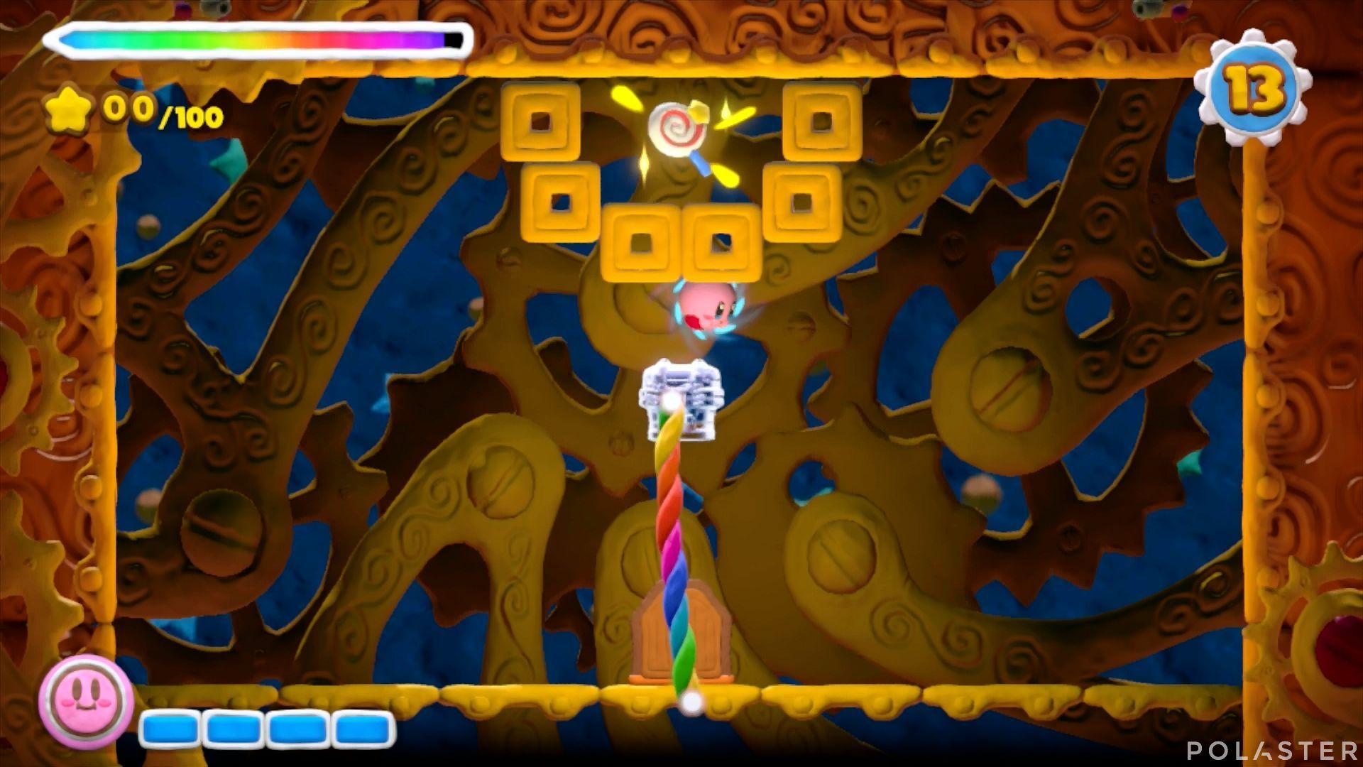 Kirby y el Pincel Arcoíris - Desafío 44: Cofre 4