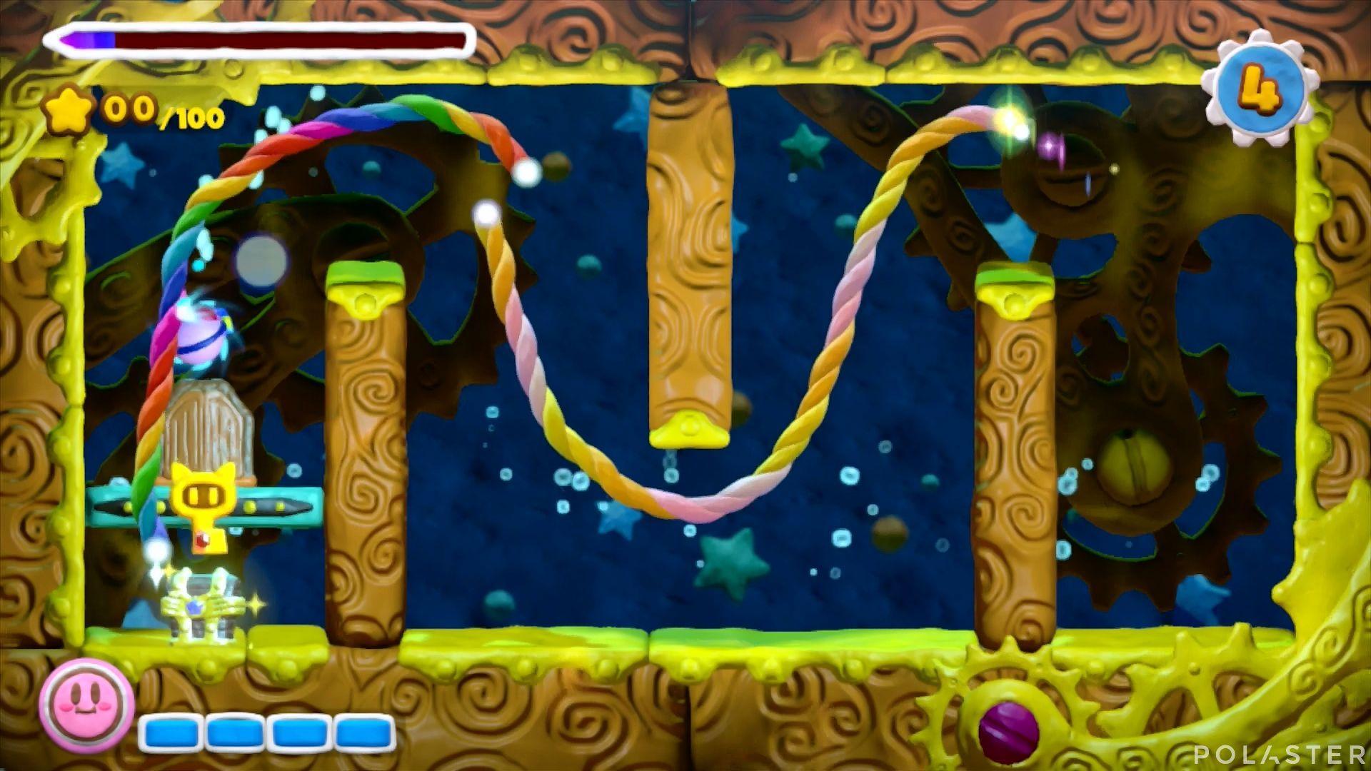 Kirby y el Pincel Arcoíris - Desafío 45: Cofre 4