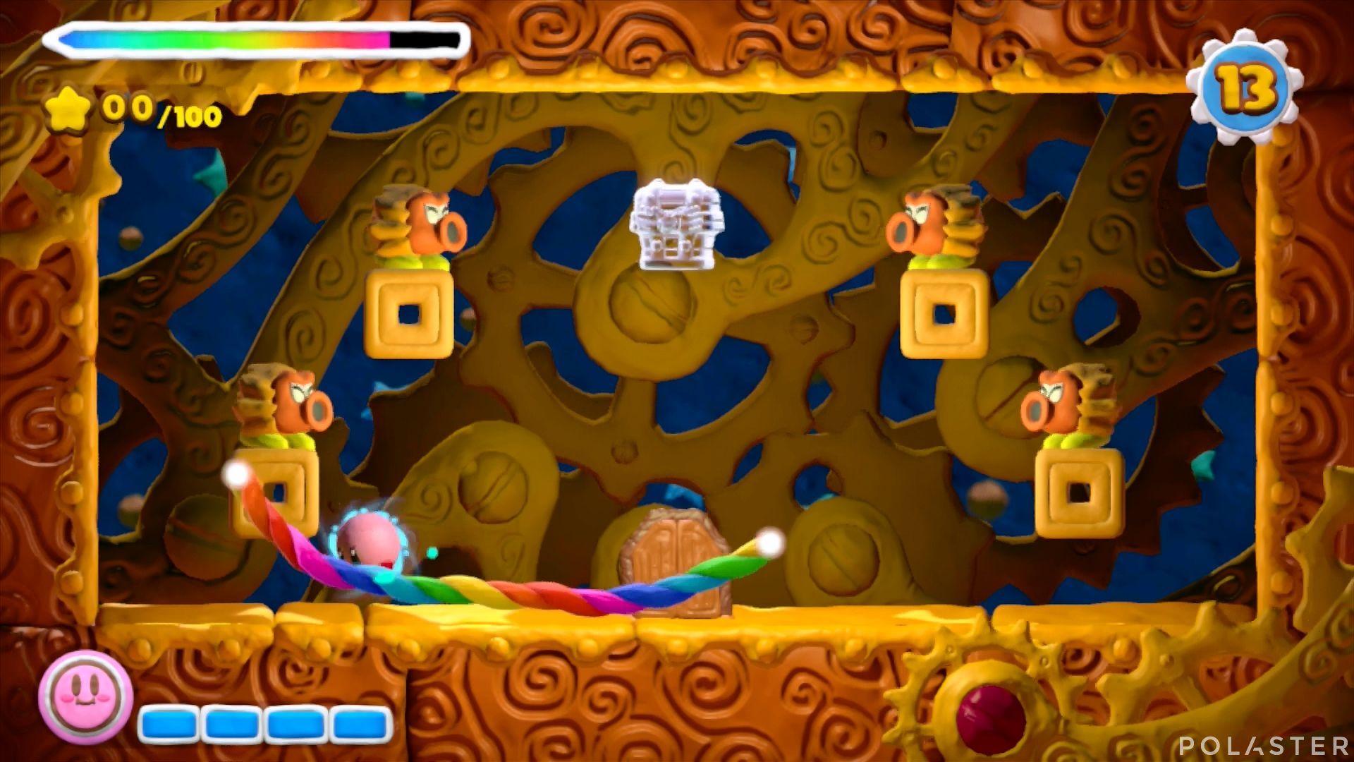 Kirby y el Pincel Arcoíris - Desafío 46: Cofre 3