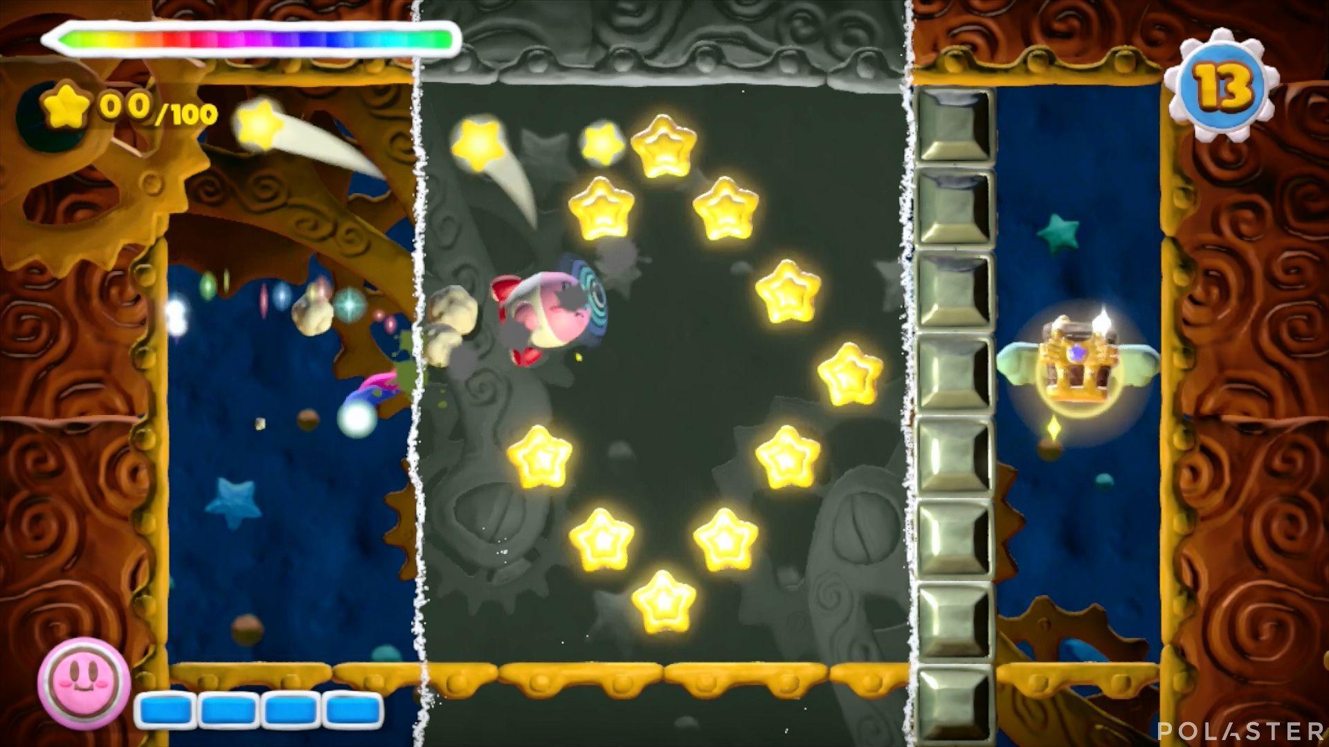 Kirby y el Pincel Arcoíris - Desafío 46: Cofre 4